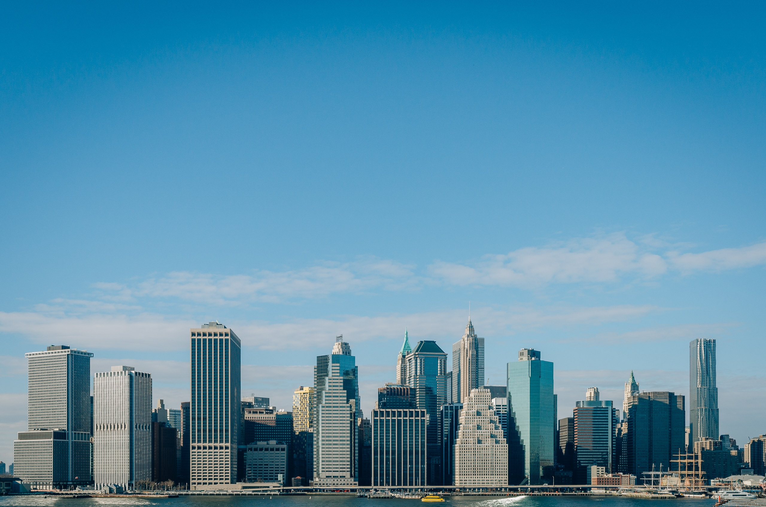 Downtown NYC from Brooklyn Heights