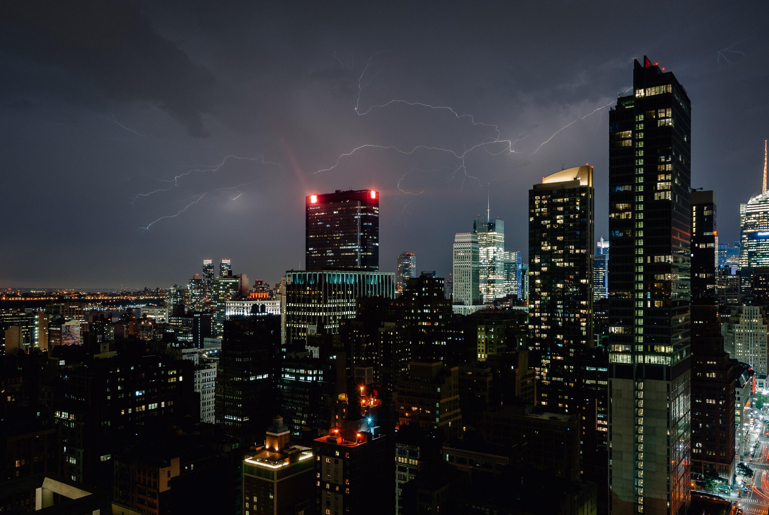 Lightning over New York City - 2011-0818-KPK_0230