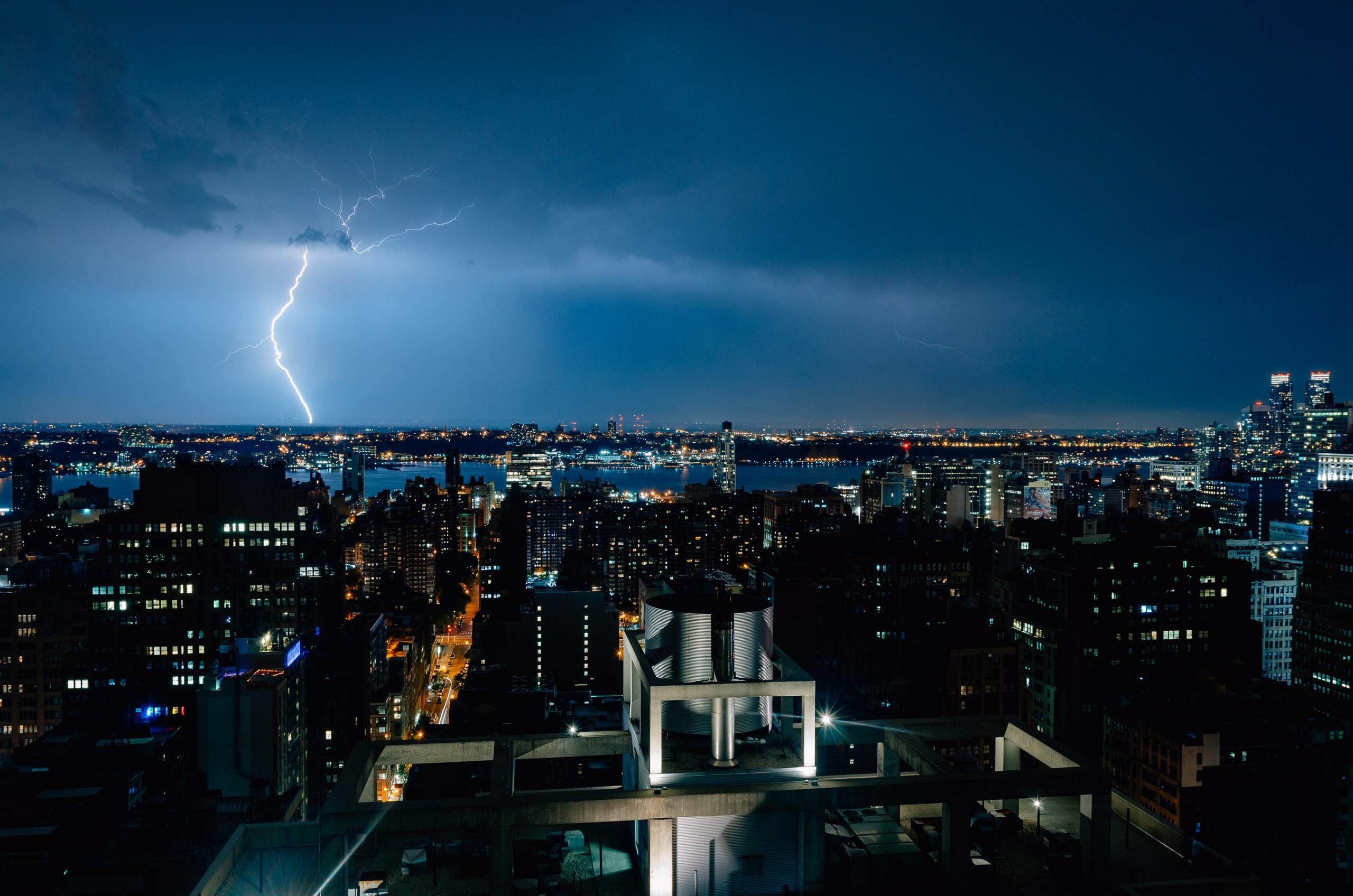 Lightning over New York City - 2011-0818-KPK_0256