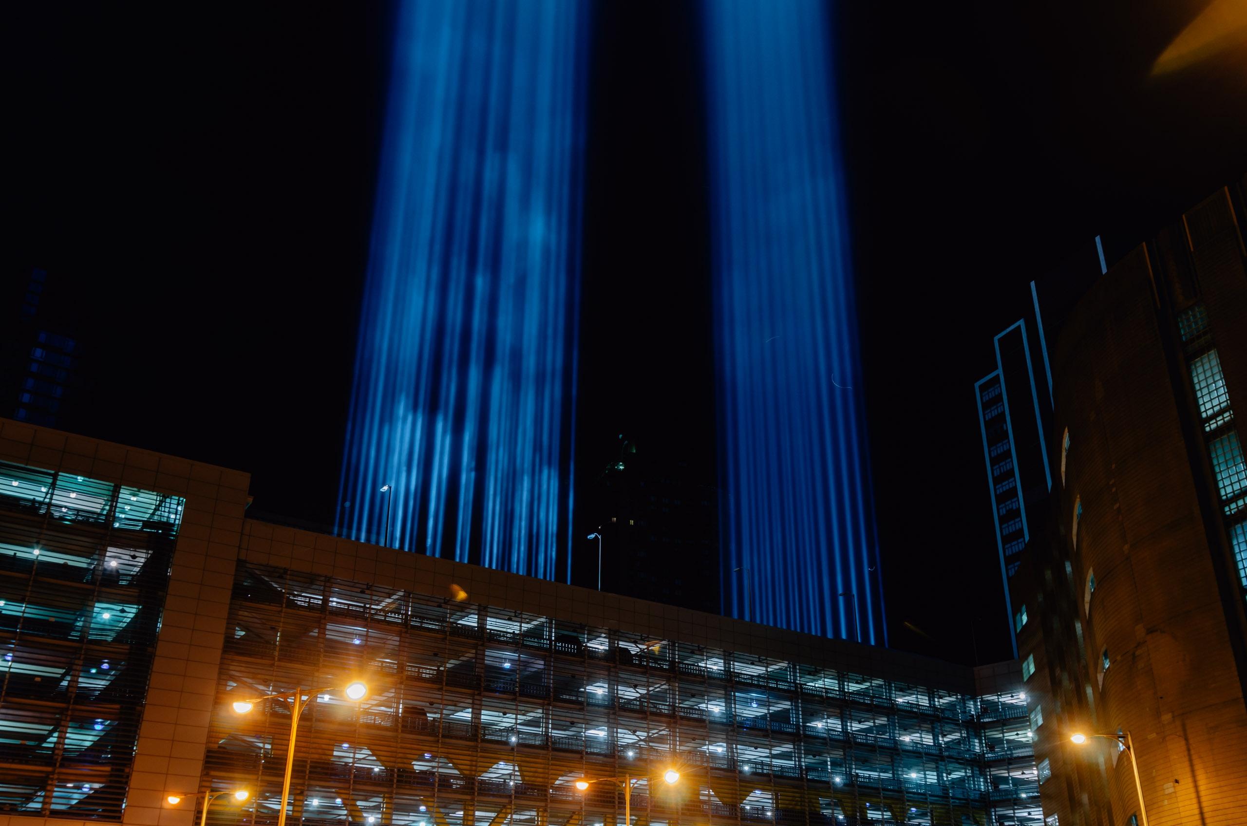 September 11 Tribute in Light - 2011 - 2011-0912-_KPK0660