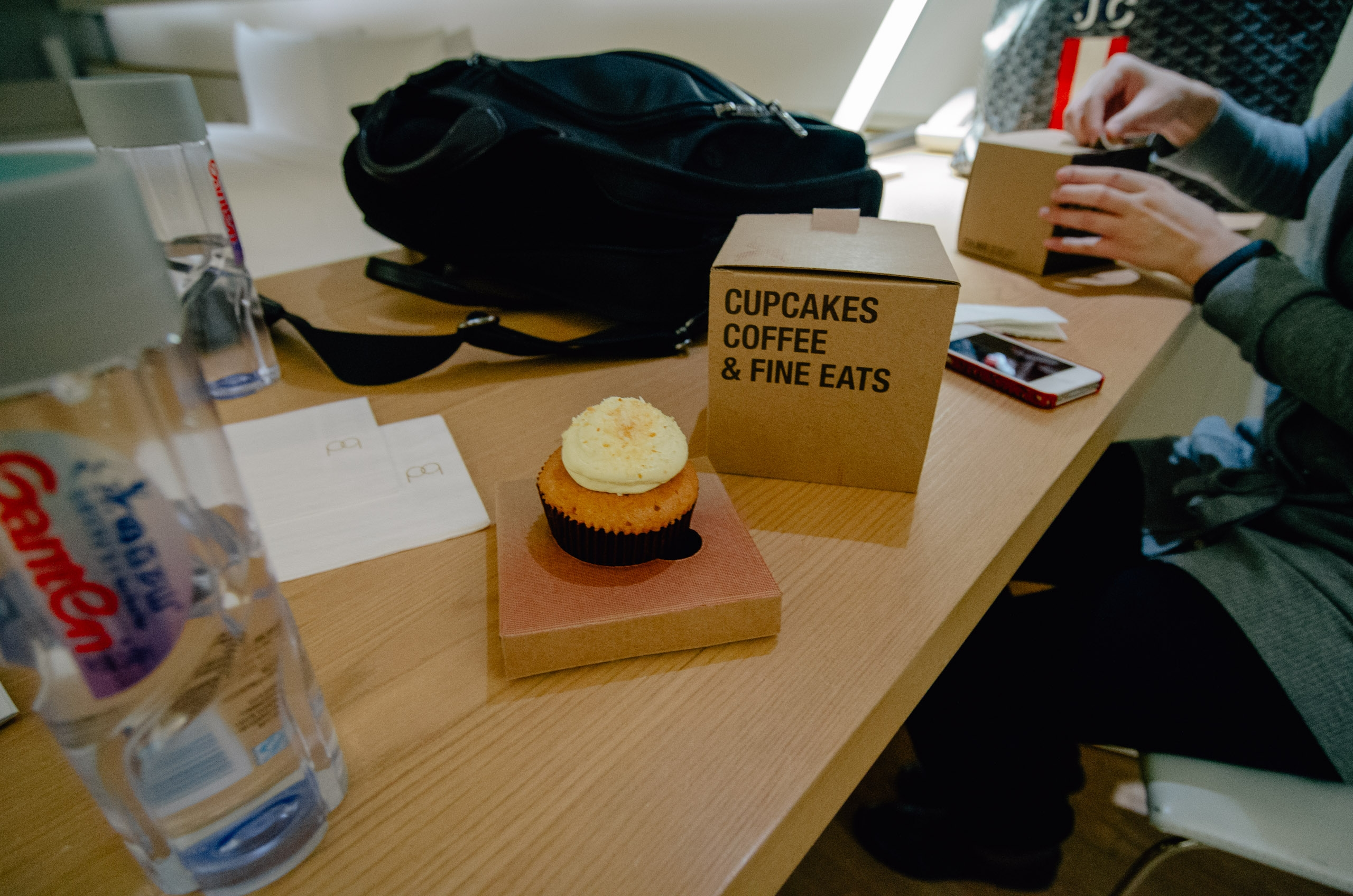 A Welcome Cupcake at the Opposite House Beijing