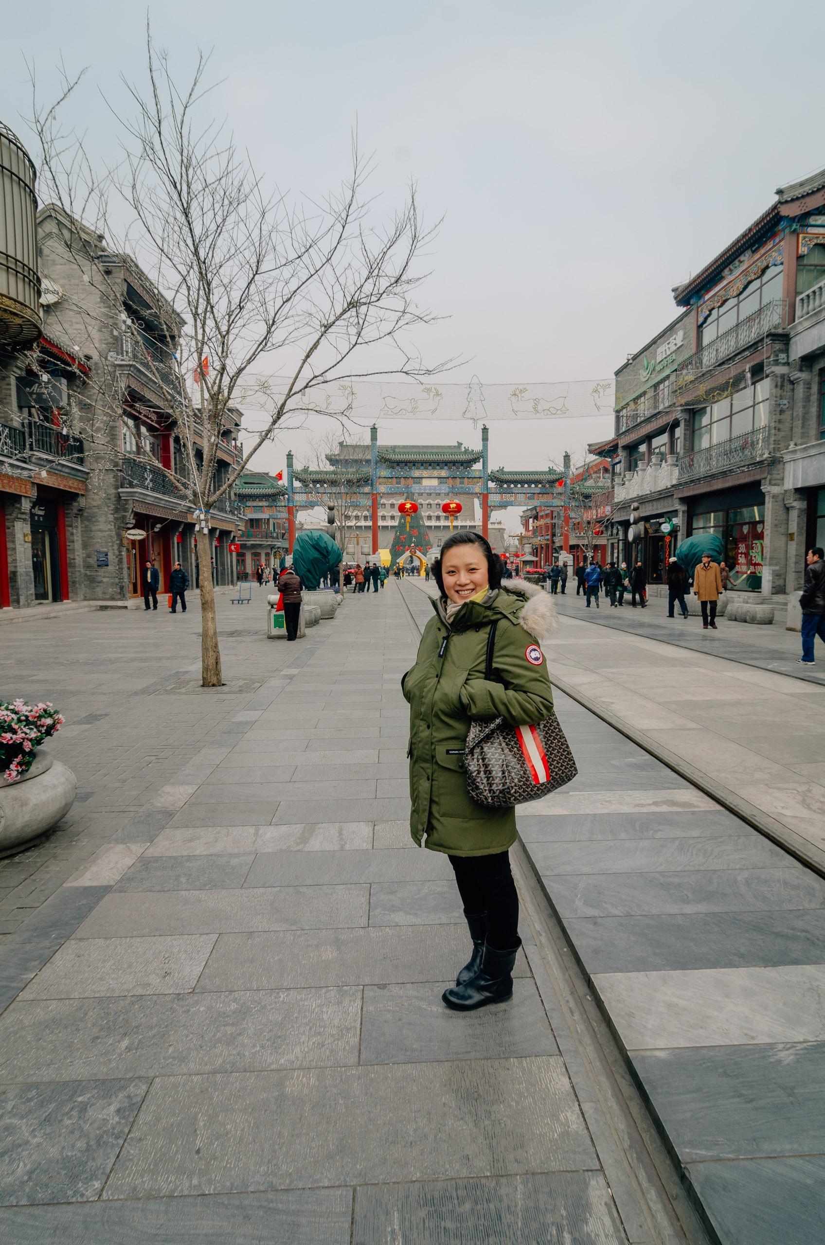Approaching Tianamen Square Beijing 2