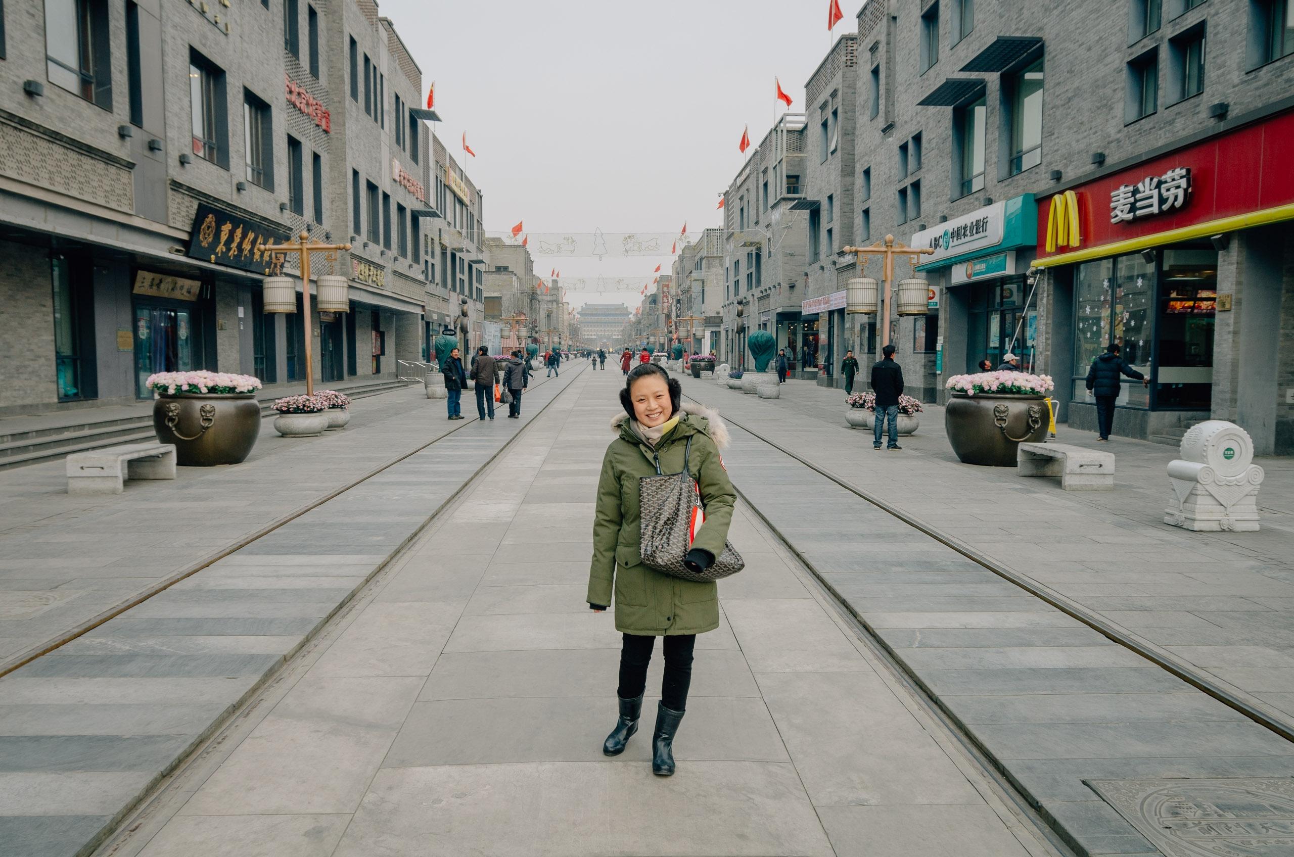 Approaching Tianamen Square Beijing 3
