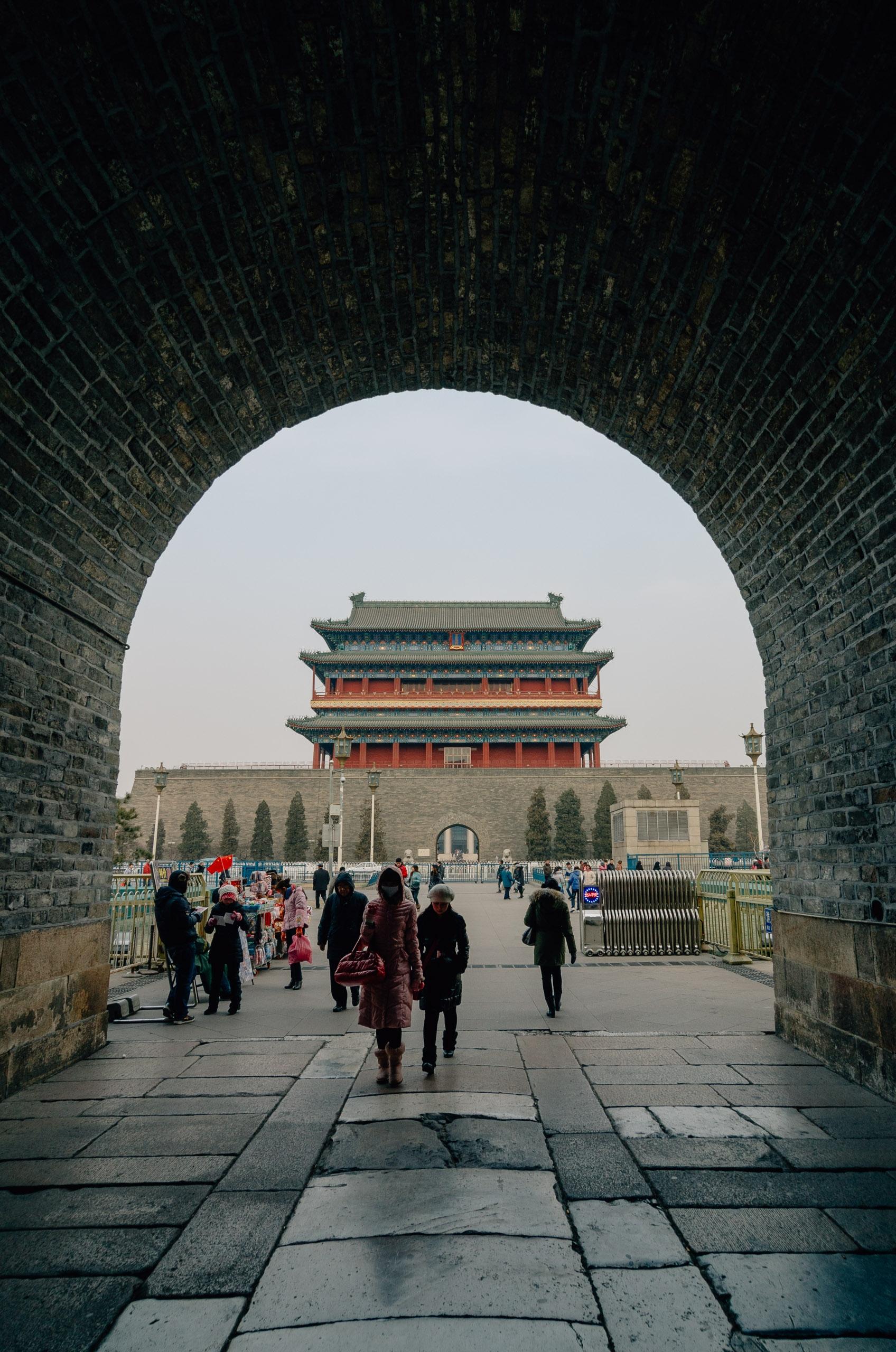 Approaching Tianamen Square Beijing 5
