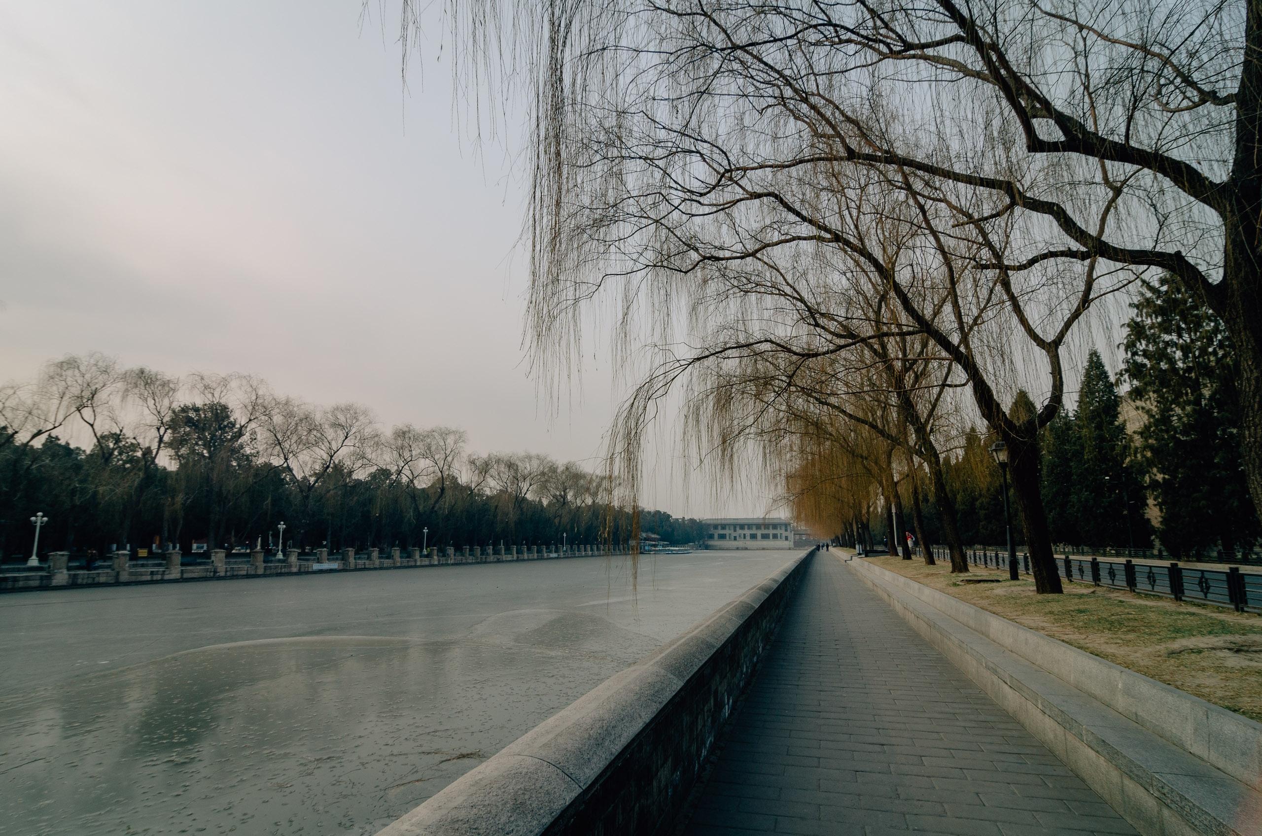 Beijing at Sunset