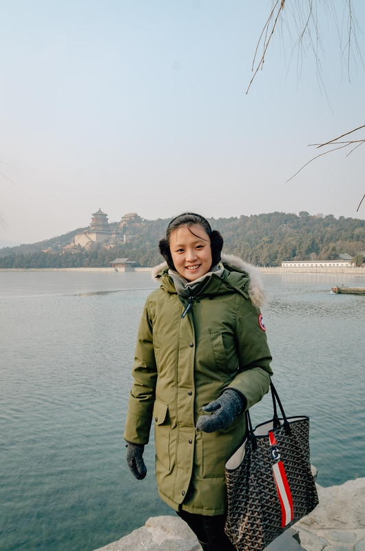 Jessica at the Summer Palace Beijing