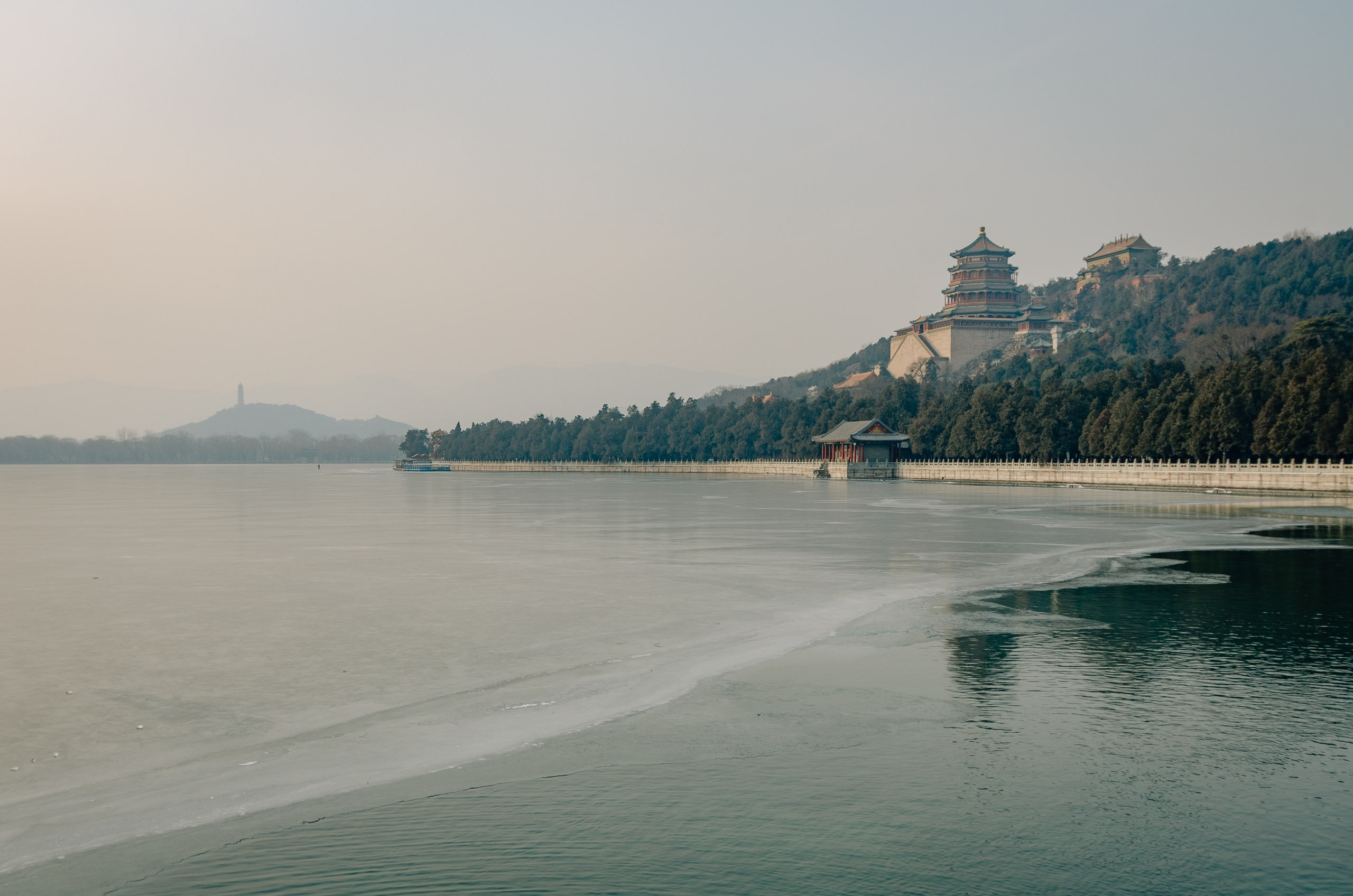 Overlooking the Summer Palace