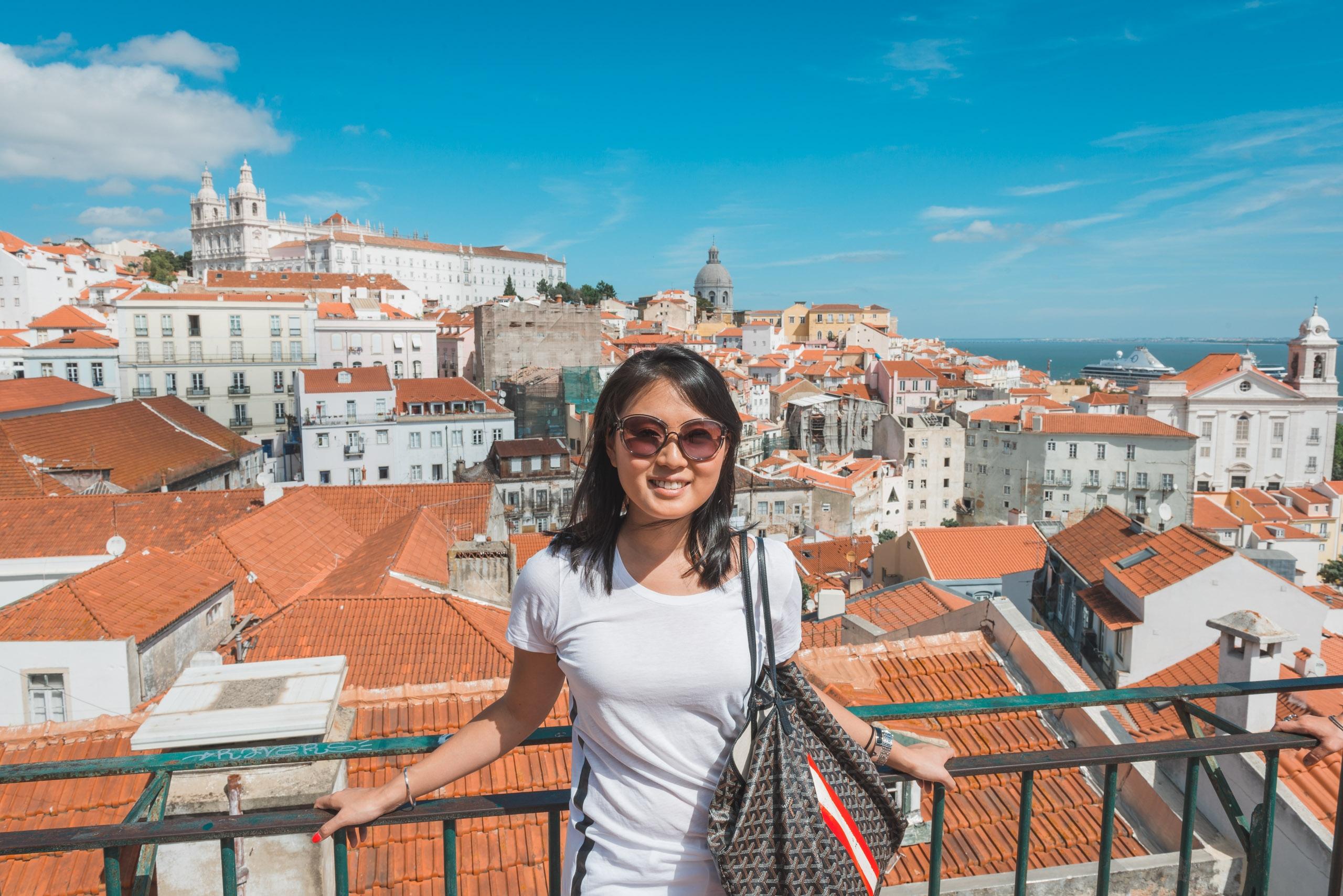 High Above Lisbon