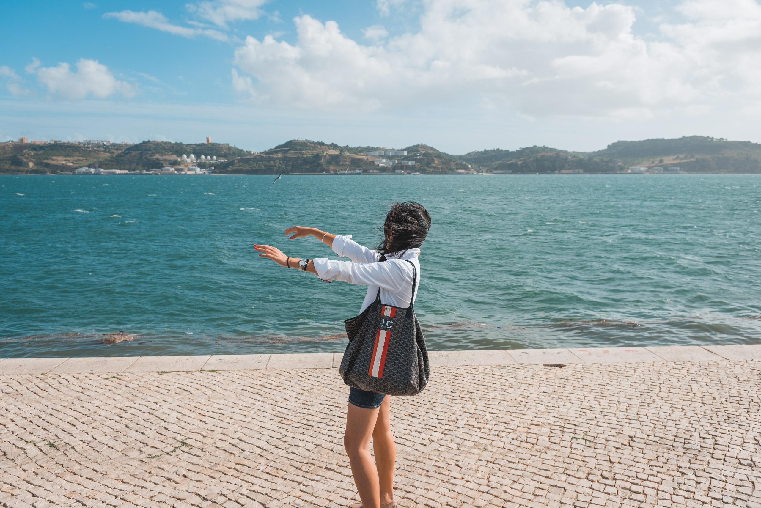 A Breezy Day in Lisbon