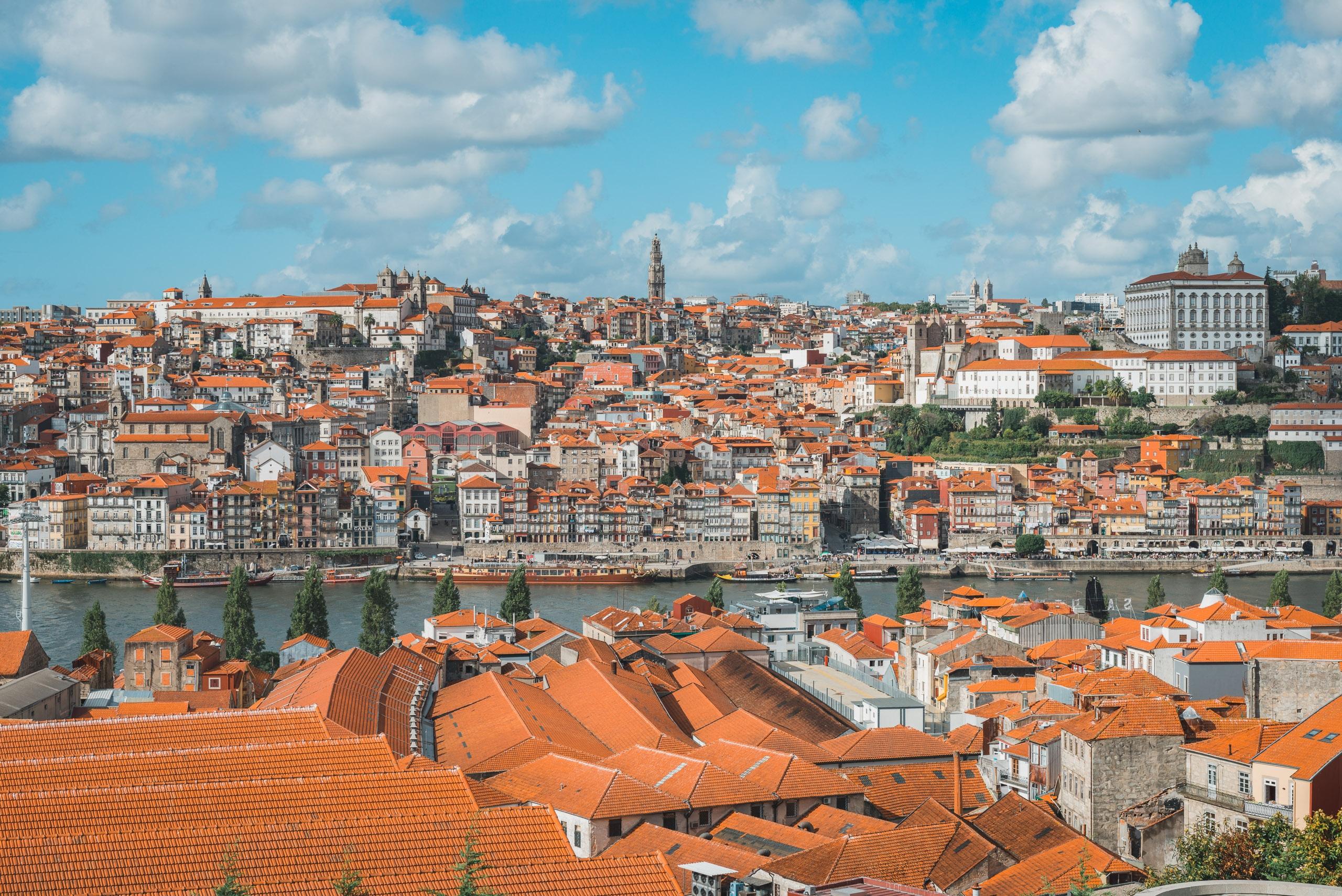 Overlooking Porto