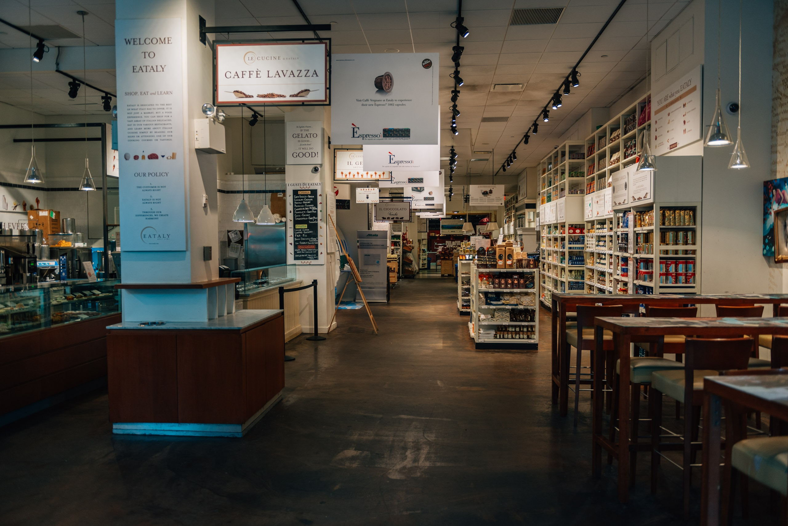 A Rarely Empty Eataly