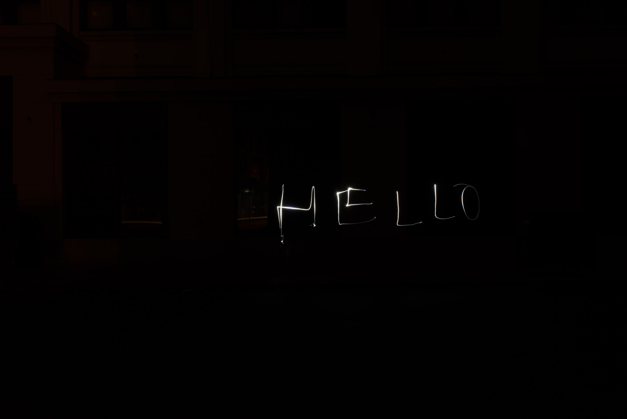 An Attempt at Light Writing