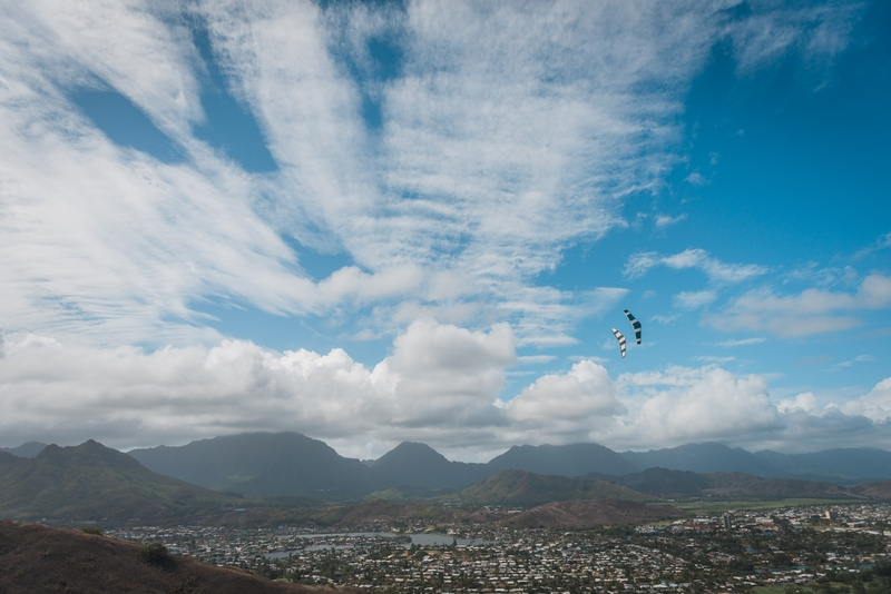 Kites and Gliders over Kailua