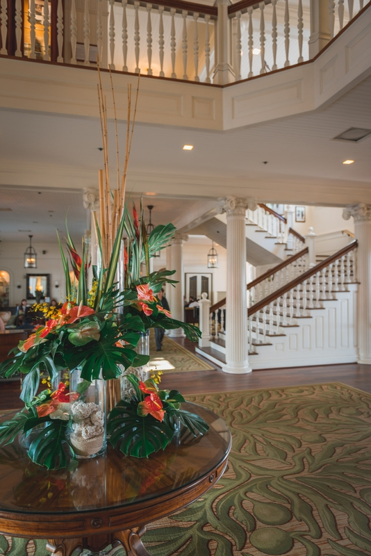 The Lobby of the Moana Surfrider