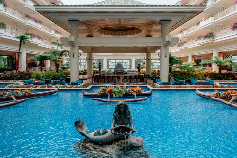 The Fountains of the Grand Wailea