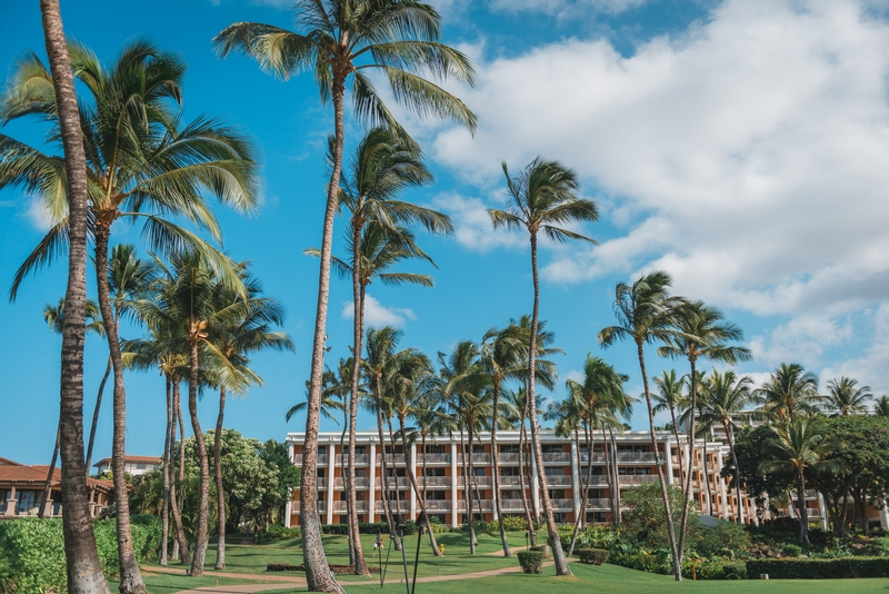 The Grounds of the Grand Wailea