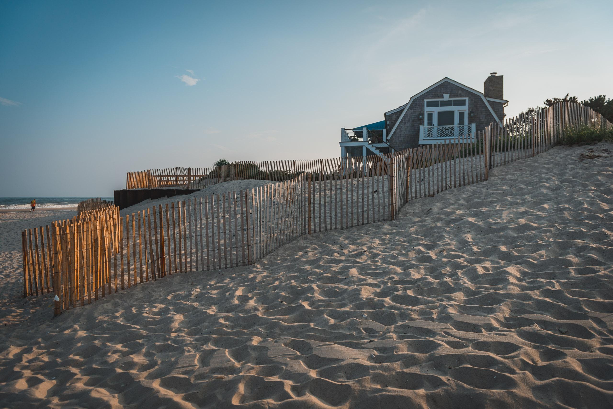 A Fancy House on the Beach