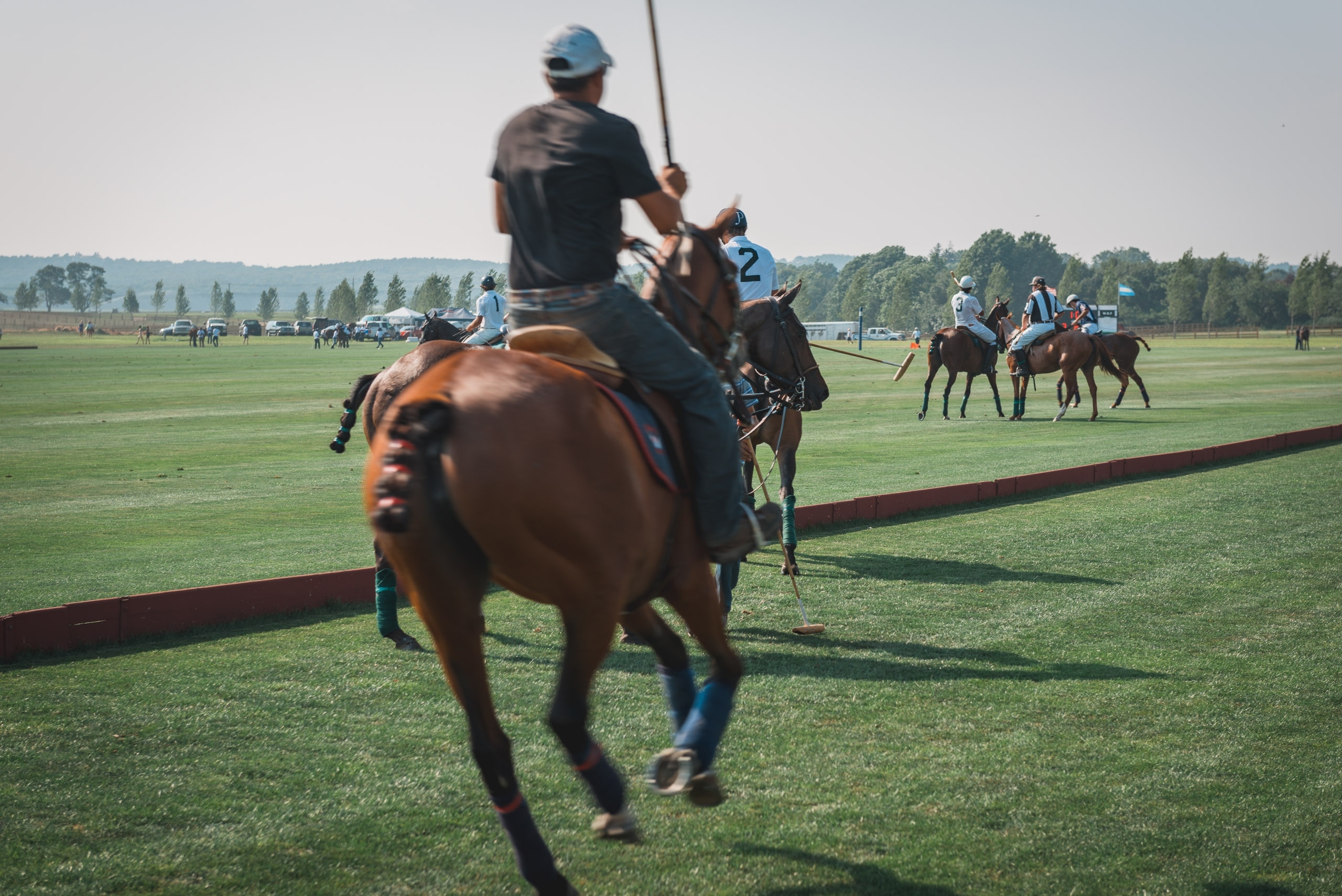 The Polo Match Begins