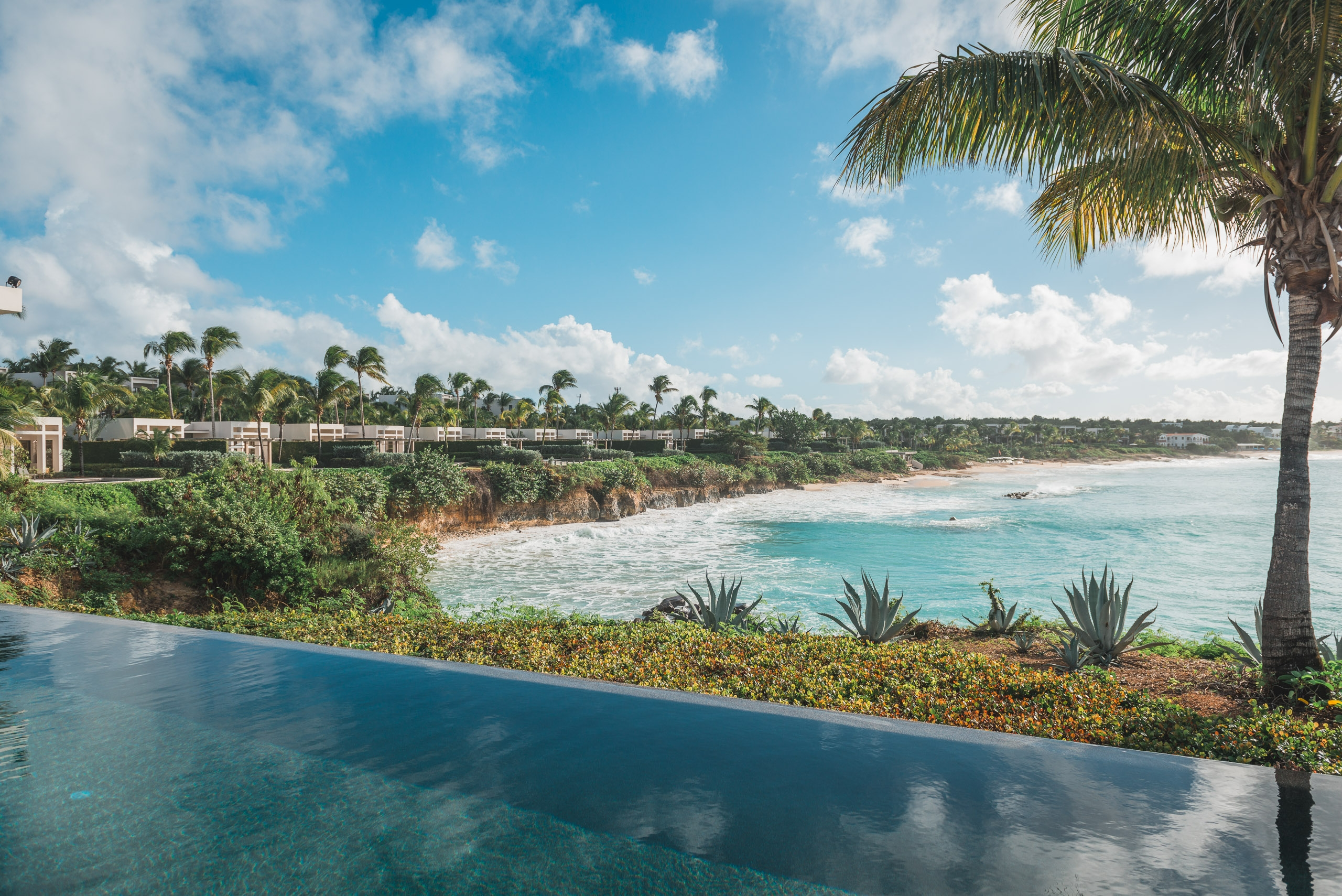 The Pool Overlooking the Villas at the Viceroy Anguilla