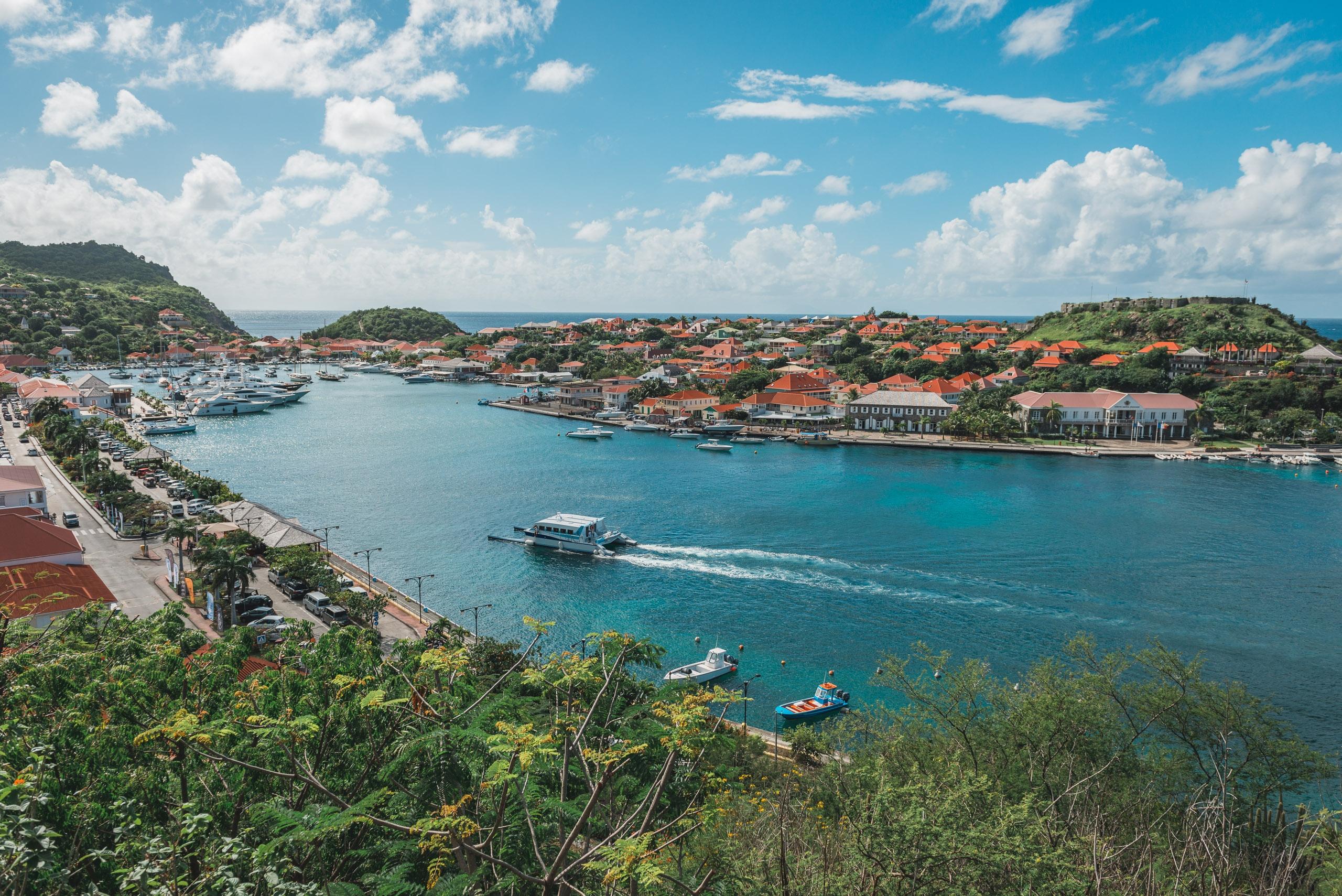 Overlooking Gustavia