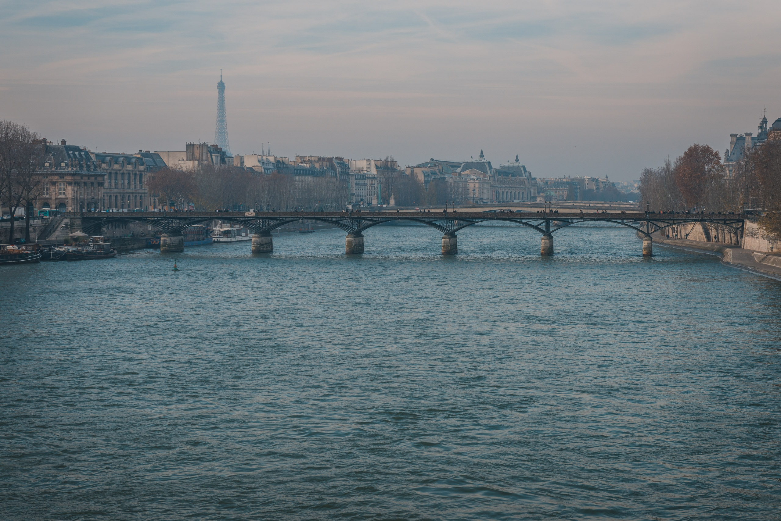 Overlooking the Seine