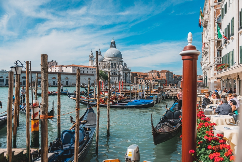 The Grand Canal and the Santa Maria Della Salute Church 2