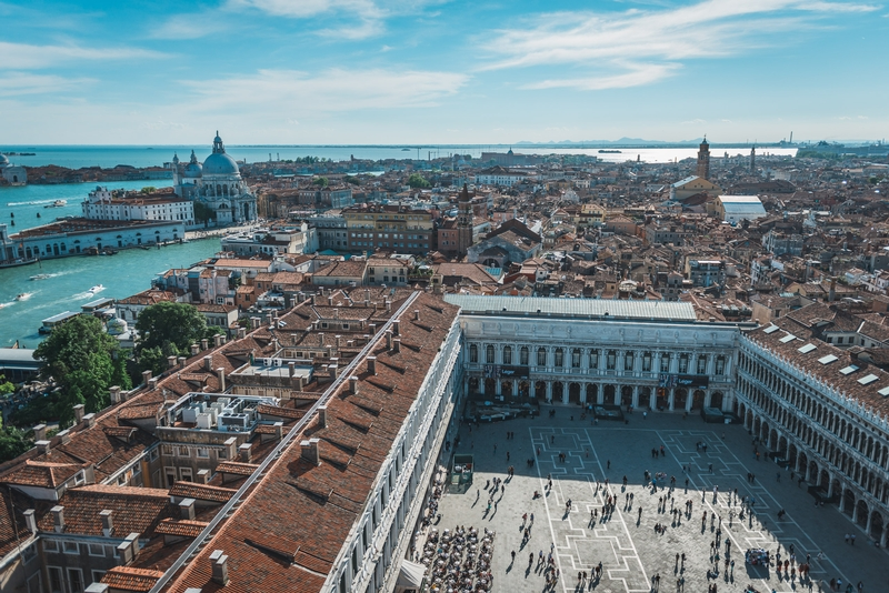 High Above the Piazza San Marco