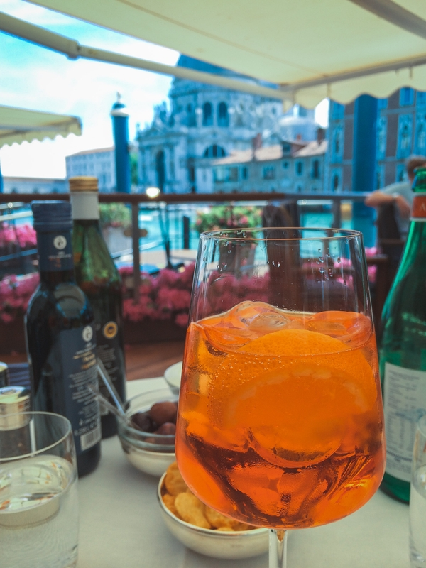 Timeout for an Aperol Spritz
