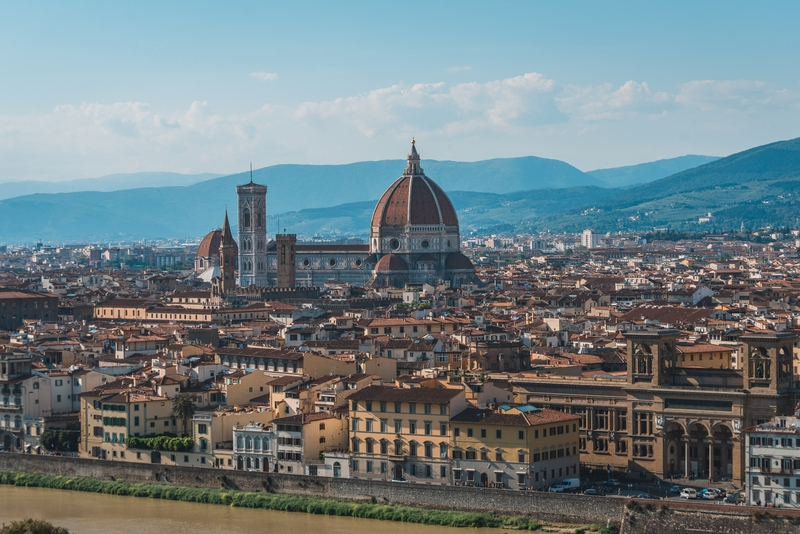 Overlooking Florence 2