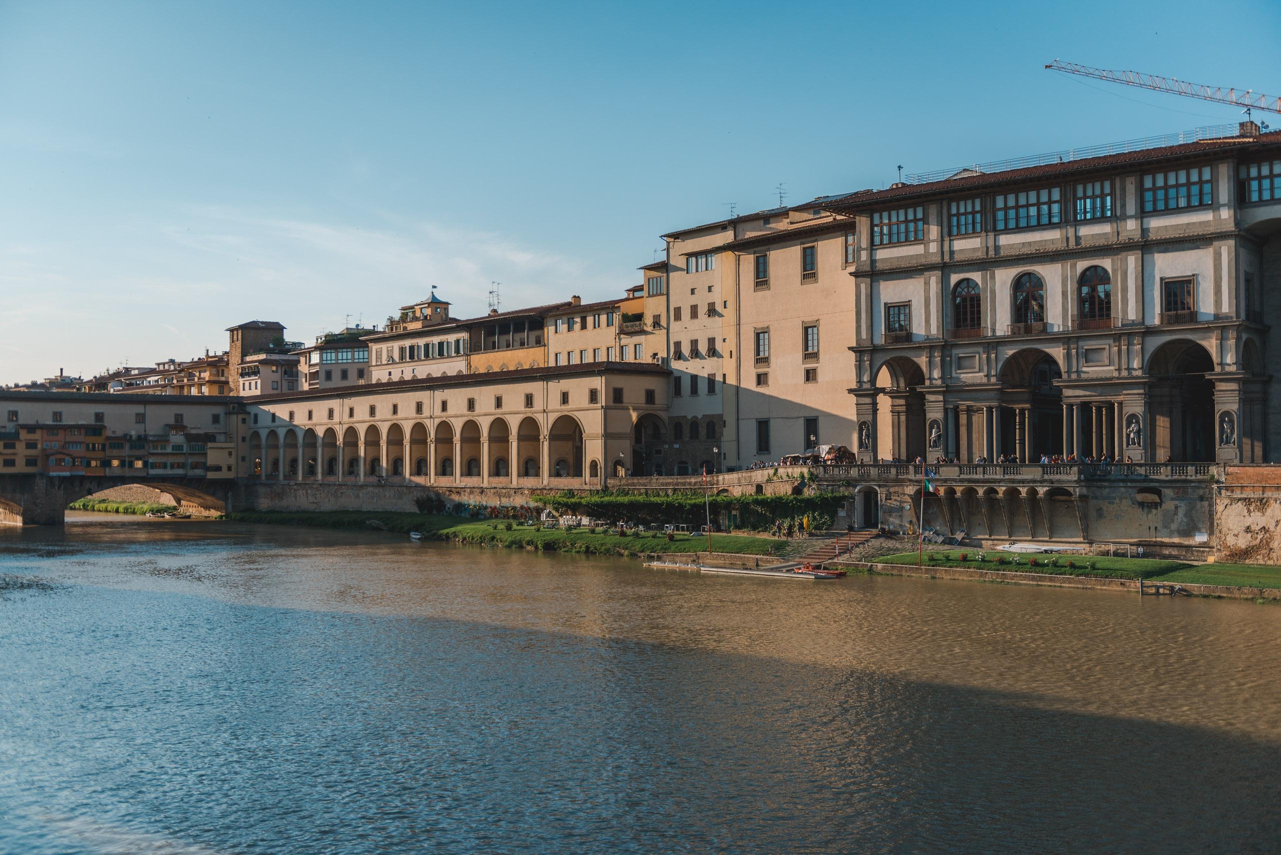 The Arno and the Ponte Vecchio