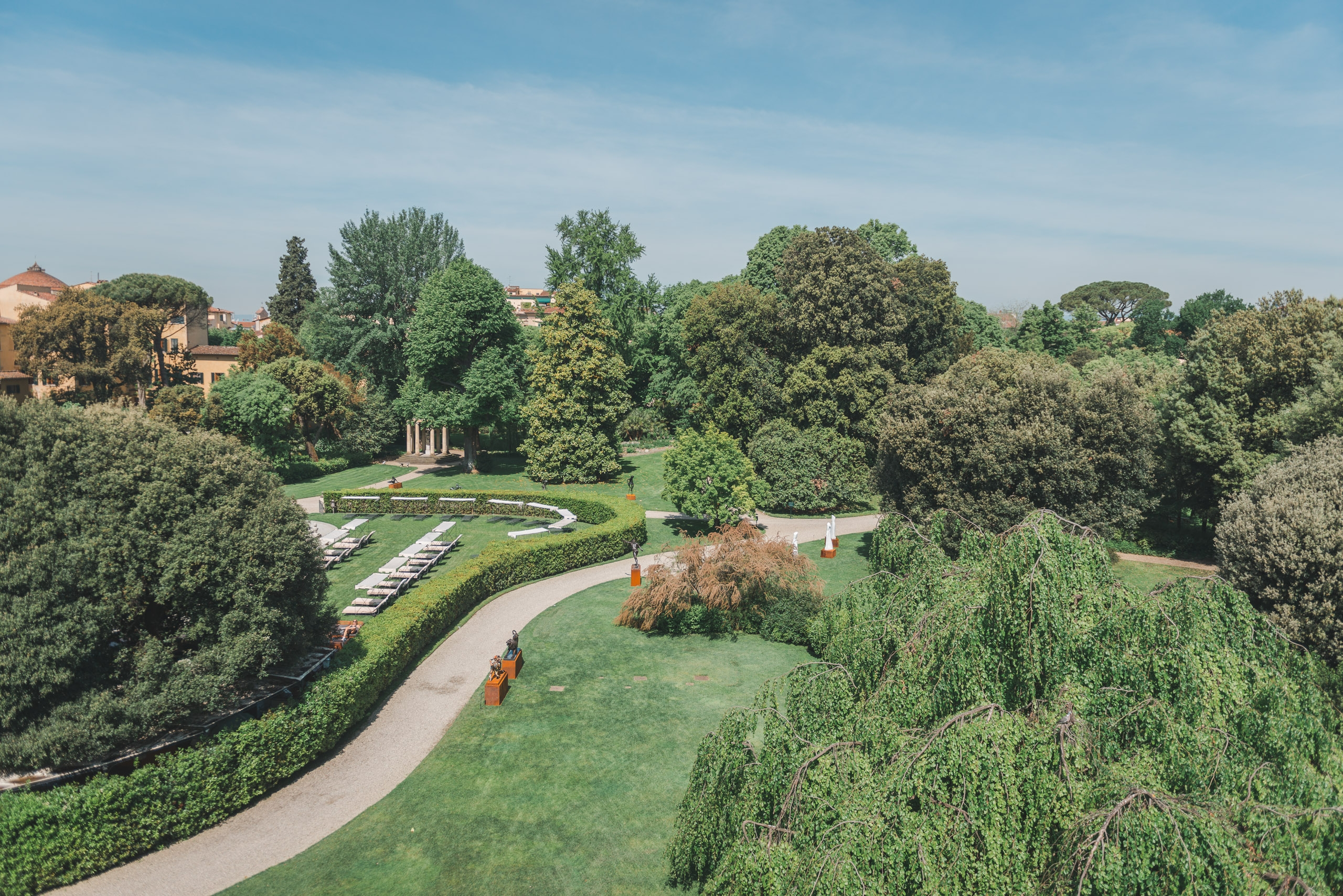 The Grounds of the Four Seasons Firenze