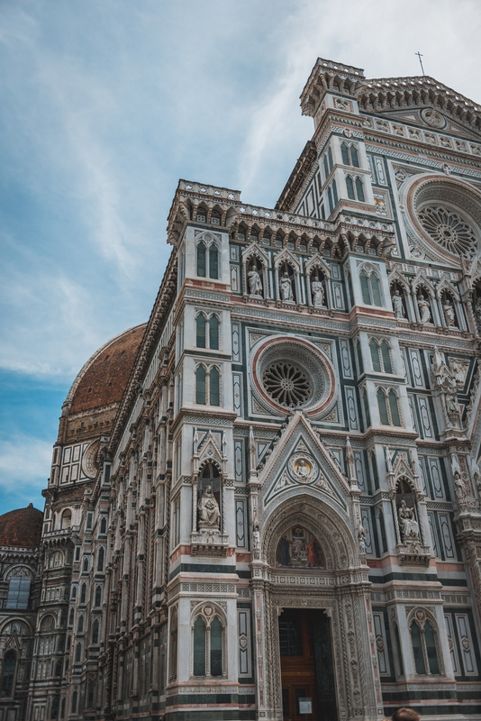 Outside the Florence Cathedral 2