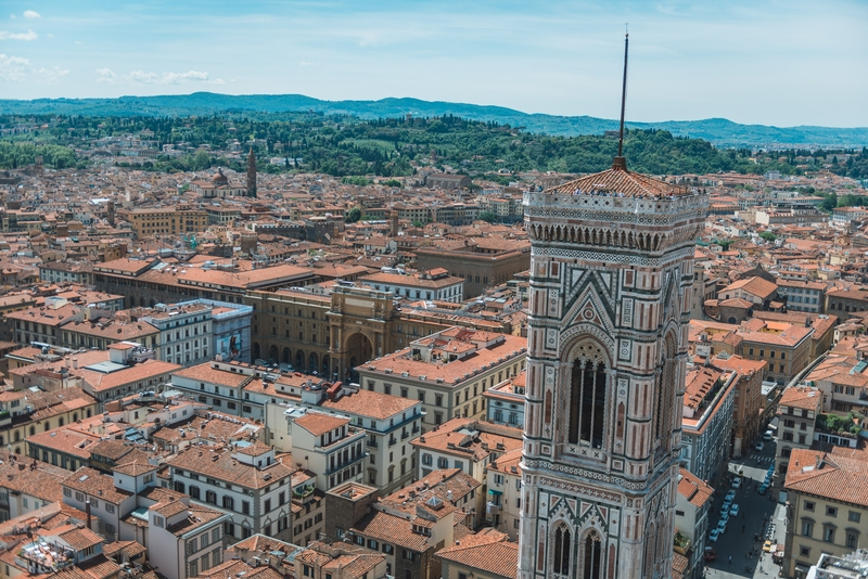 Overlooking Florence from the Cathedral 2