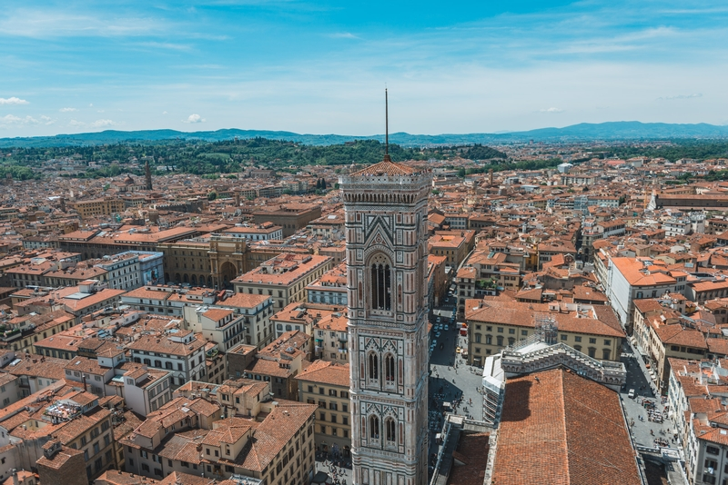 Overlooking Florence from the Cathedral