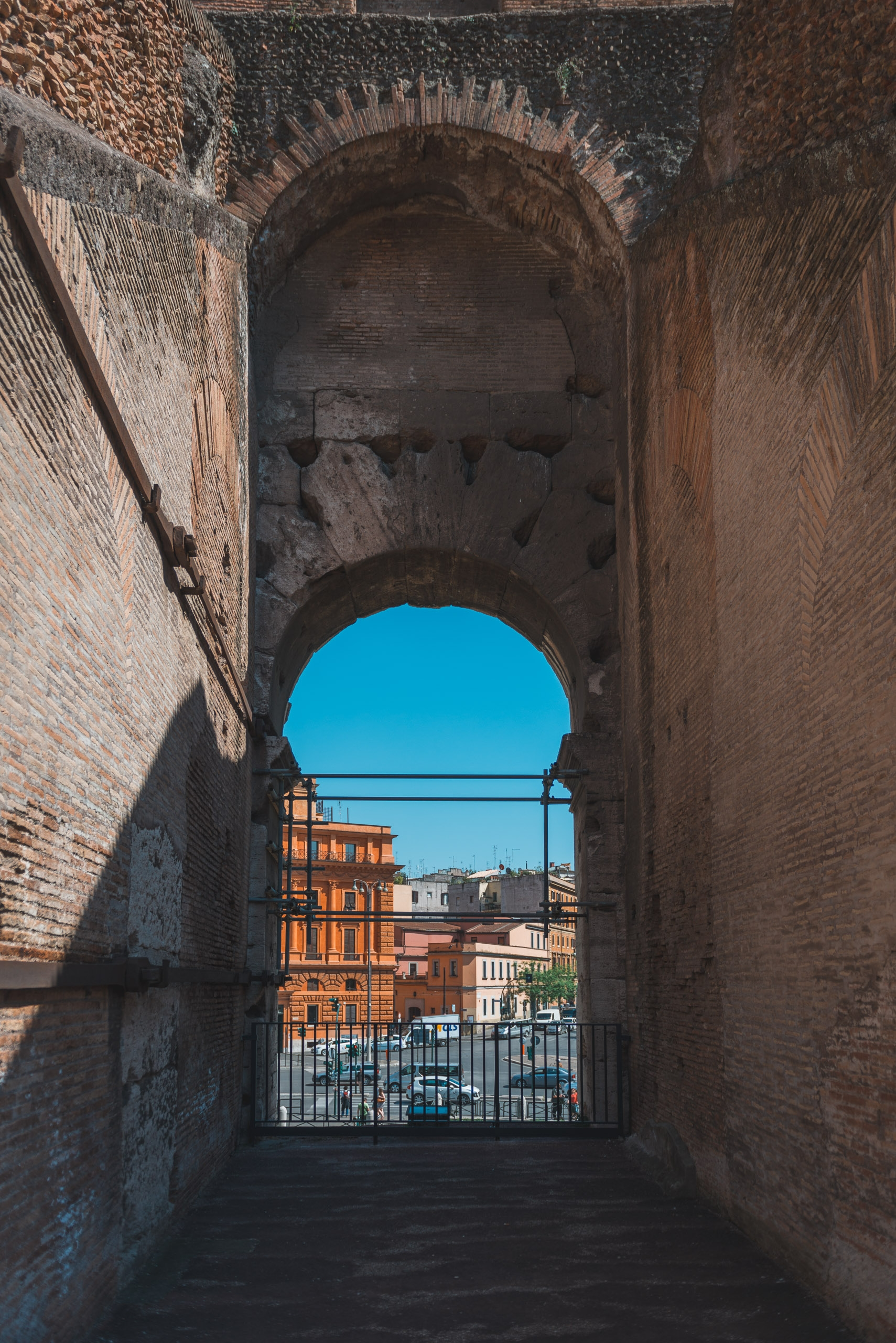 An Ancient Entrance to the Colosseum