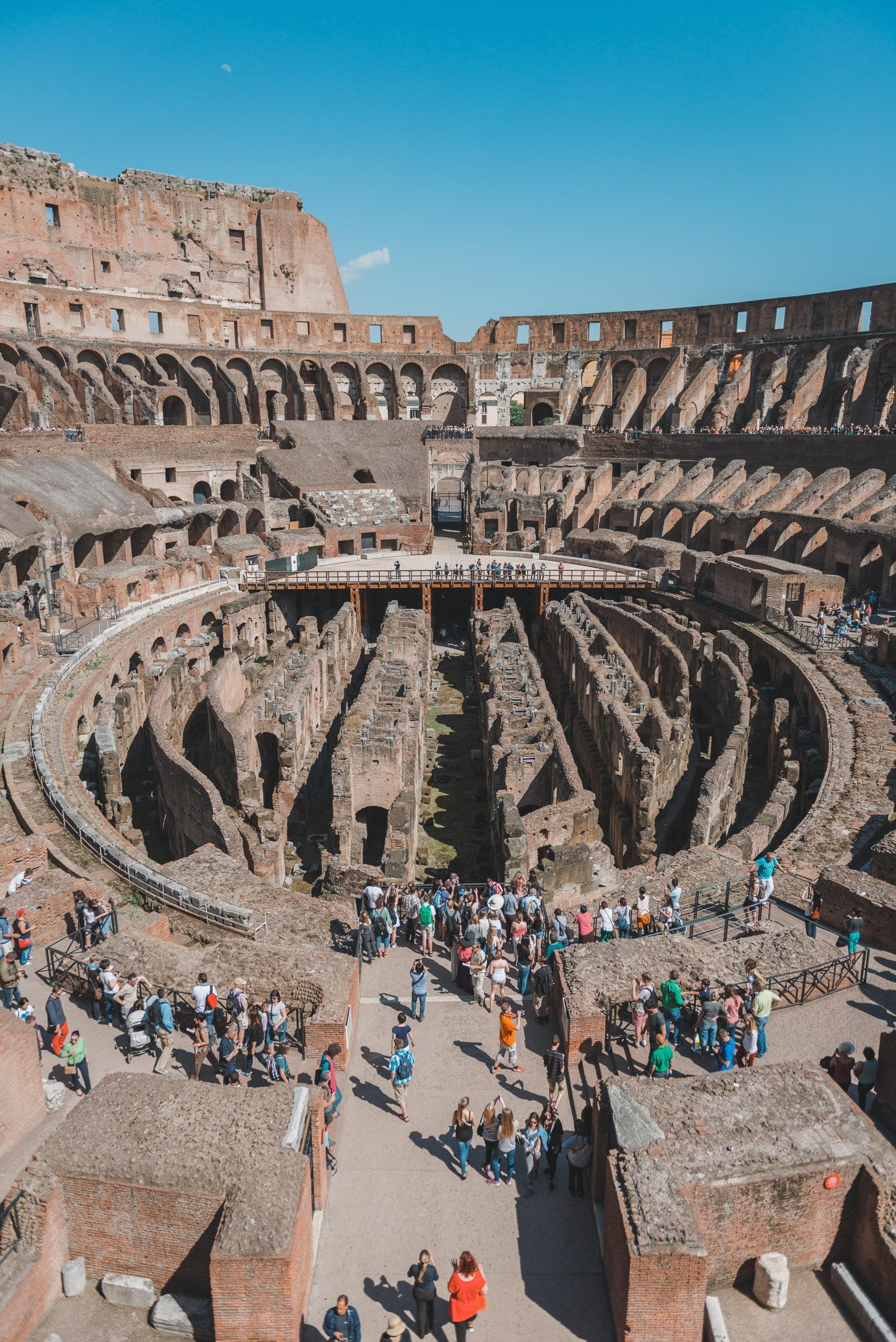 Inside the Colosseum 2