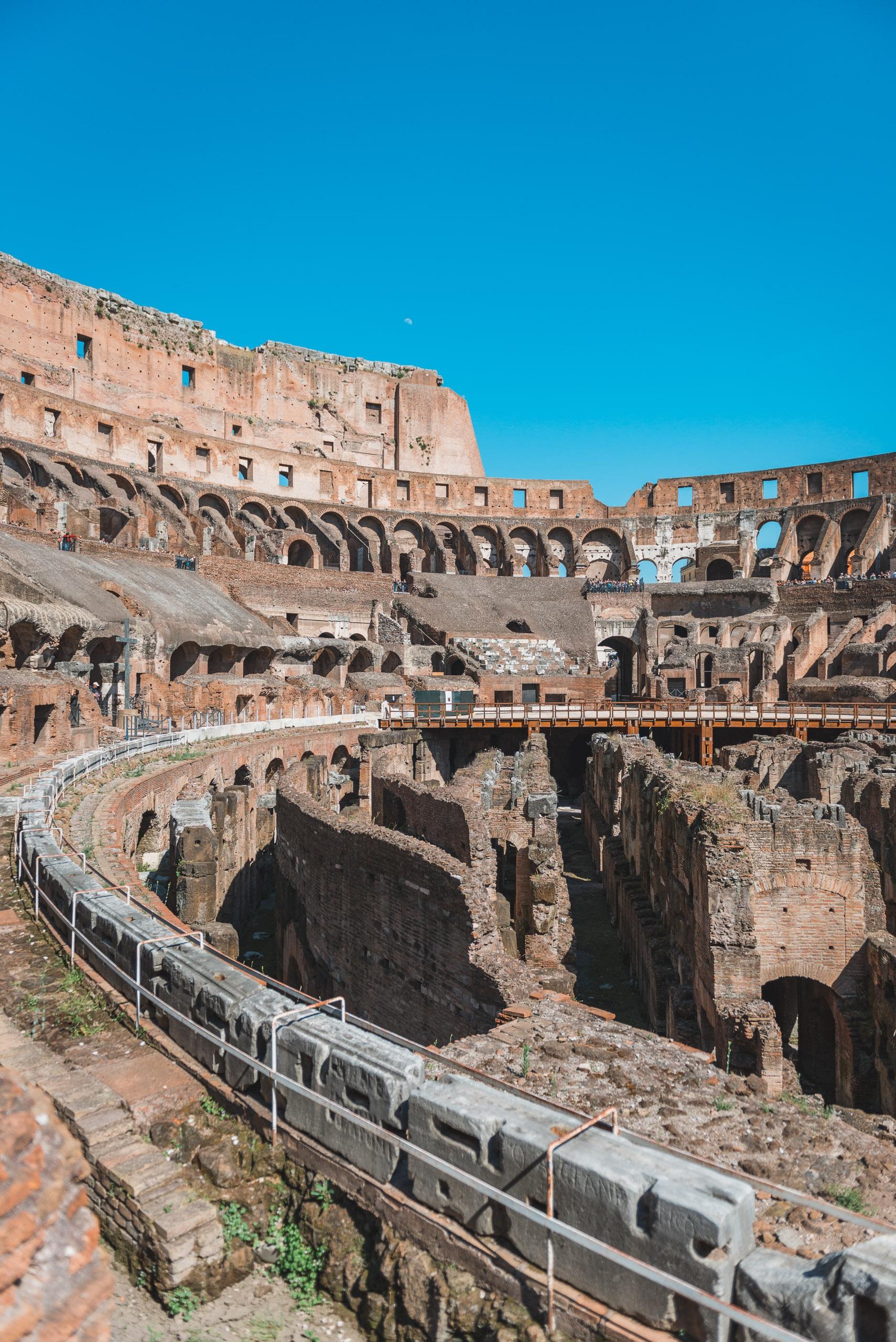 Inside the Colosseum 4