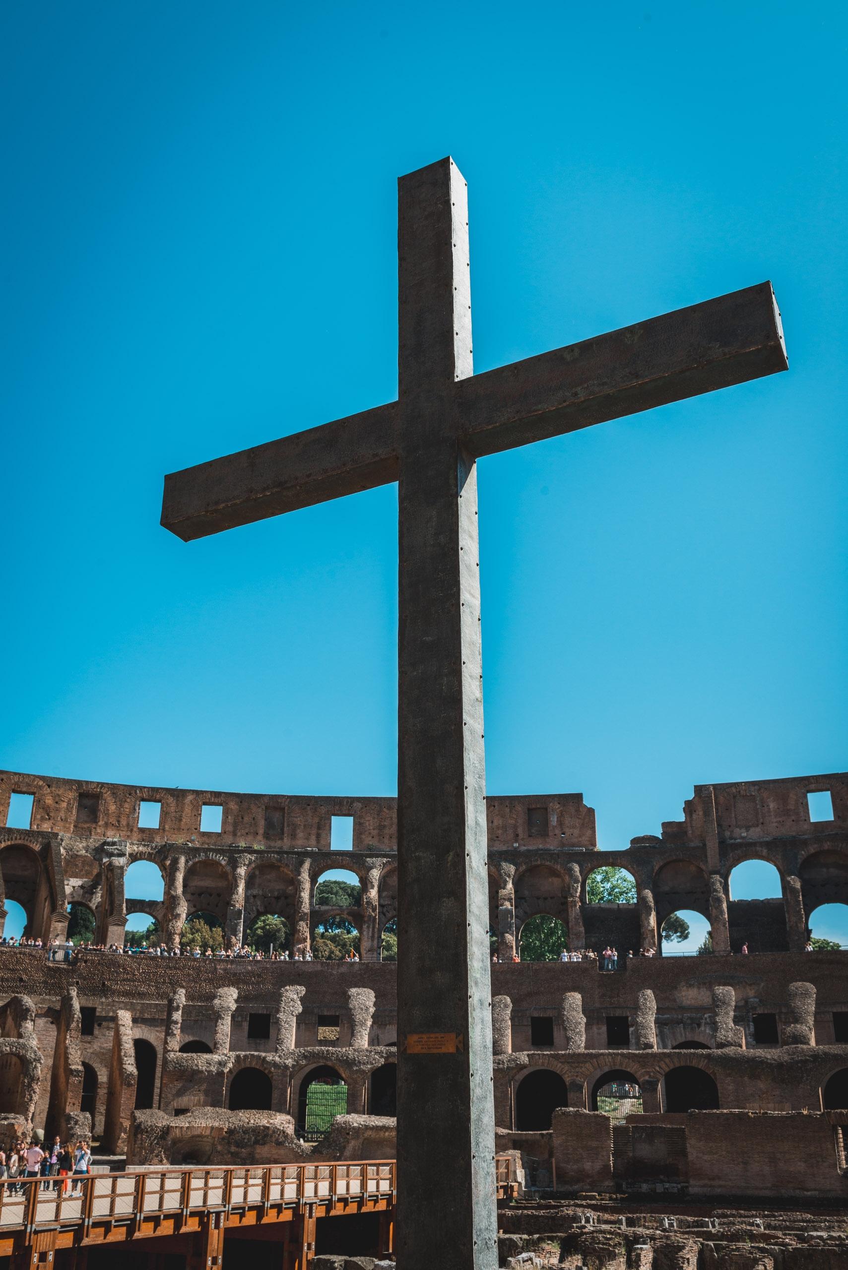 Inside the Colosseum 5