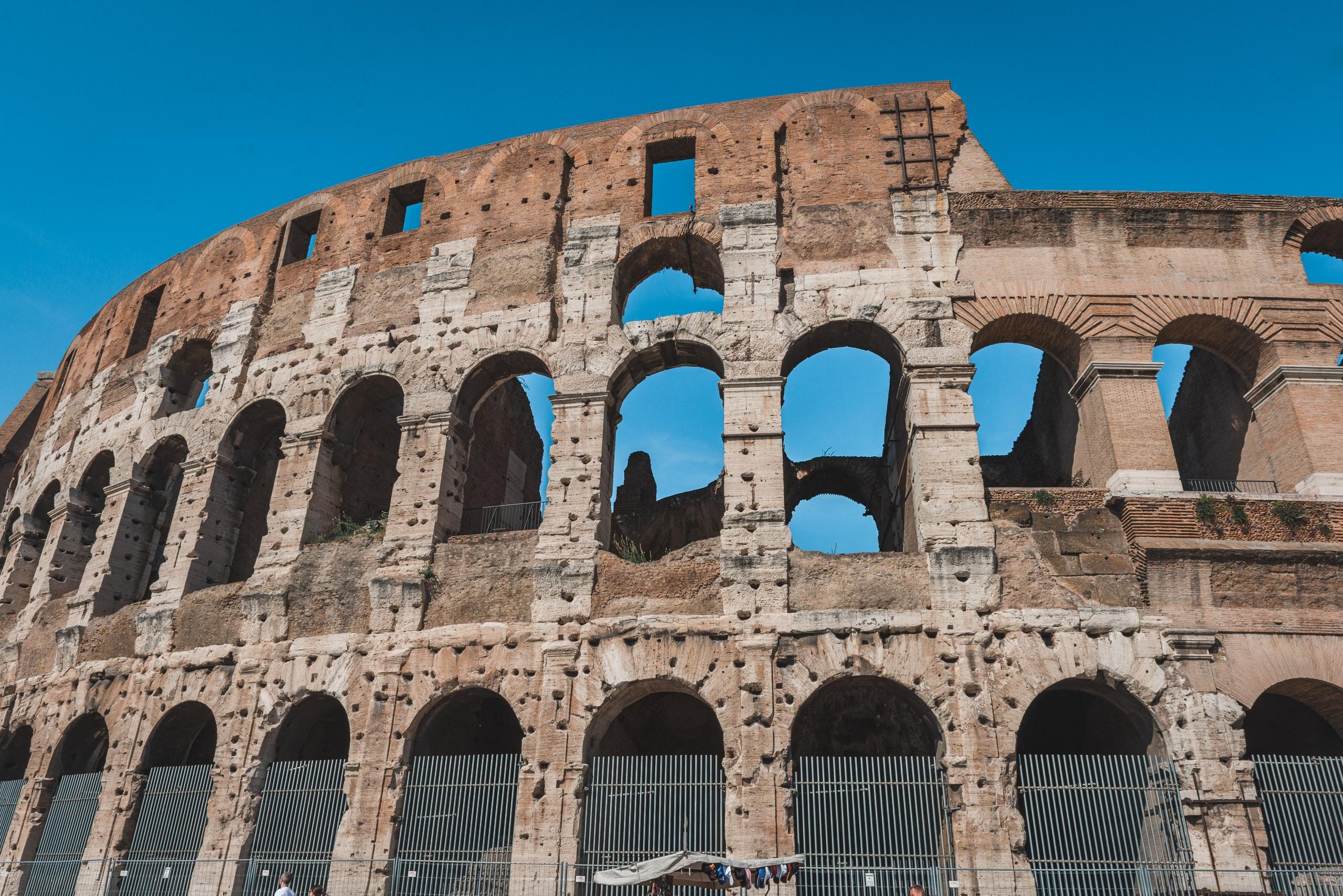 Outside the Colosseum 2