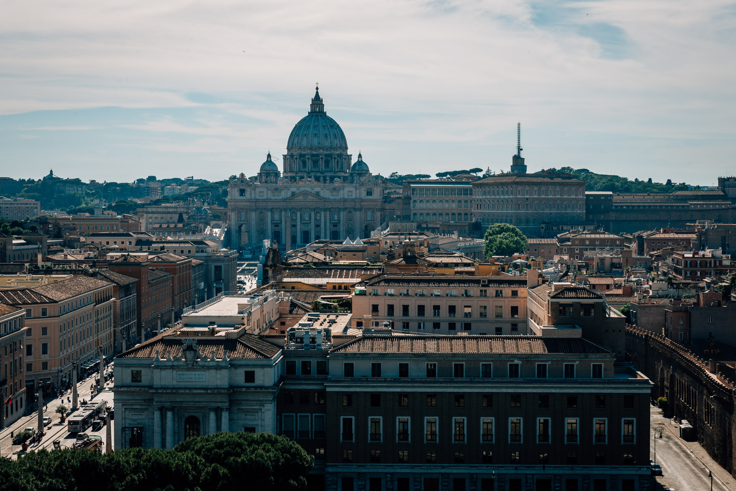 Approaching the Vatican 3