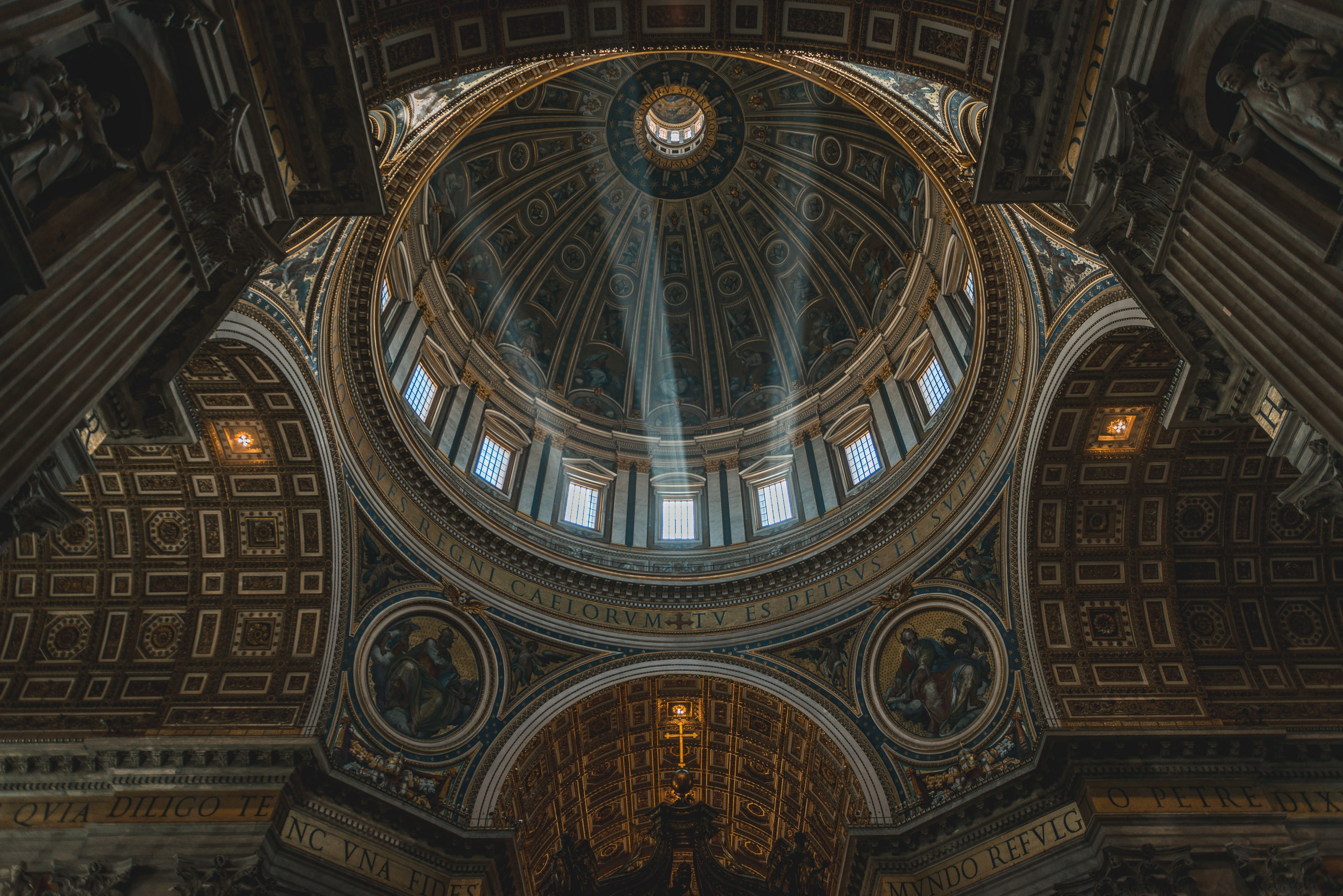 Inside St Peters Basilica 3