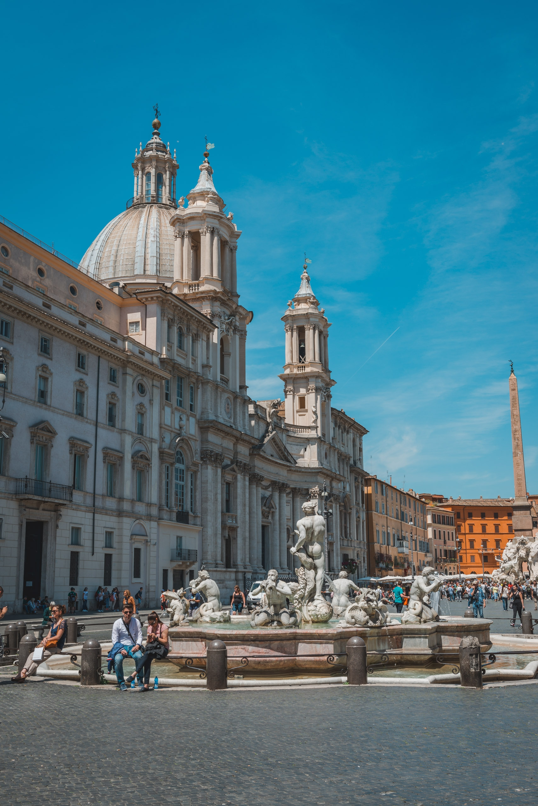 Touring Rome