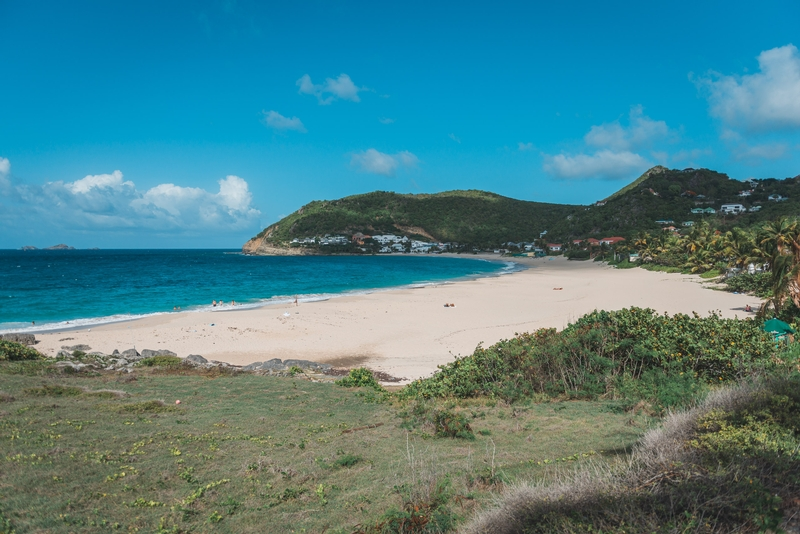 Anse de Flamand in the Afternoon