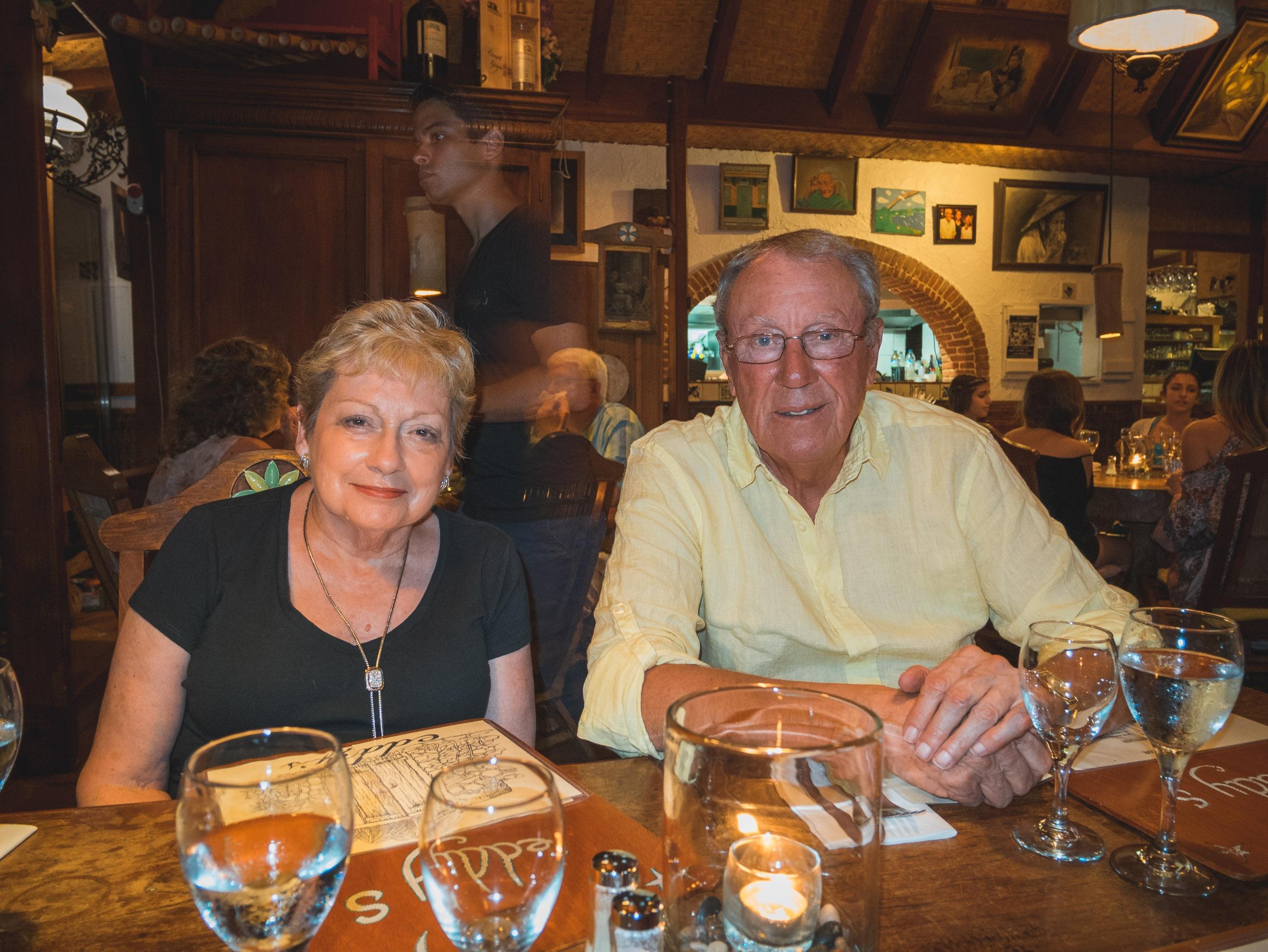 Lynn and Warren Dinner at Eddys