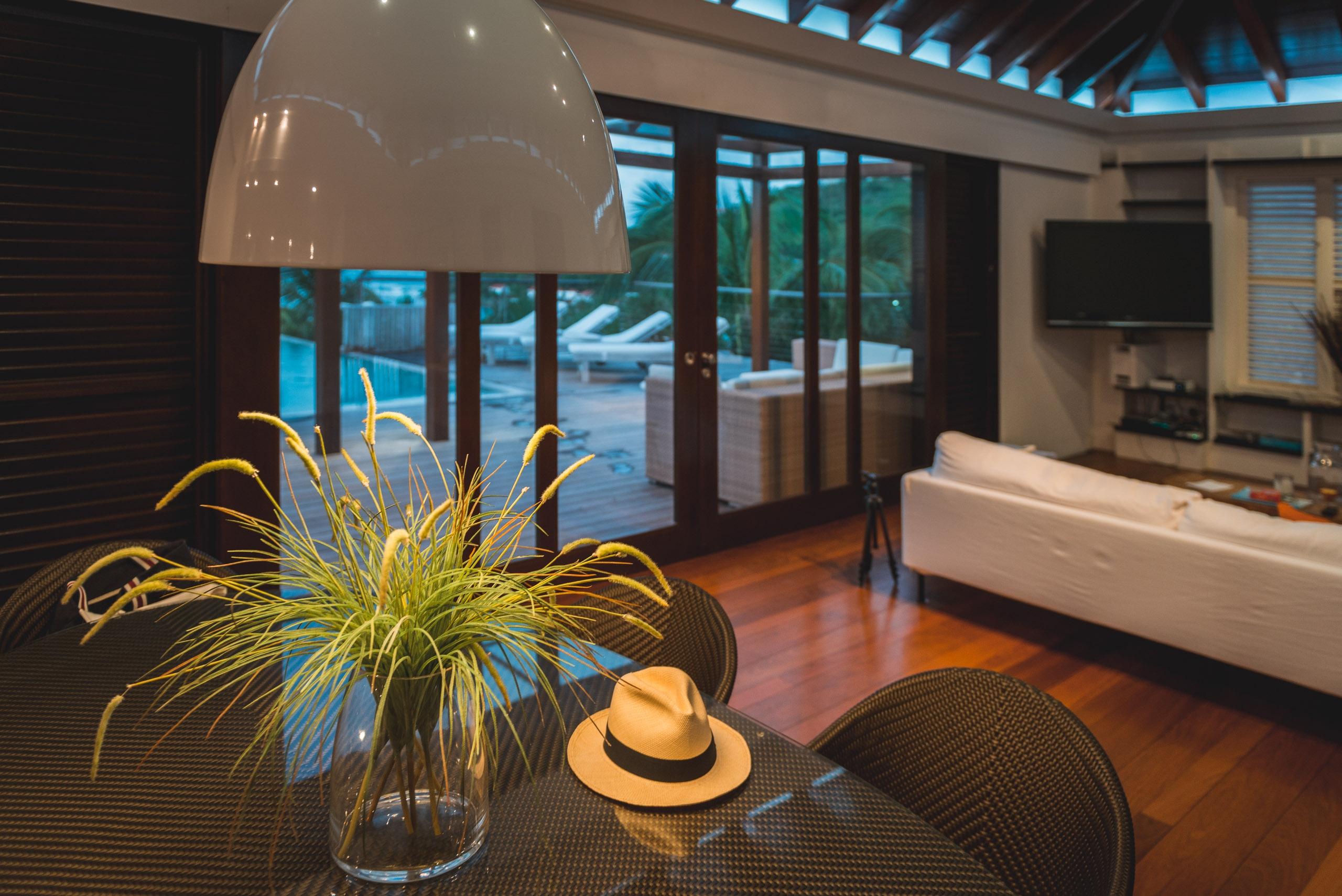 The Living Room at Villa Nikki