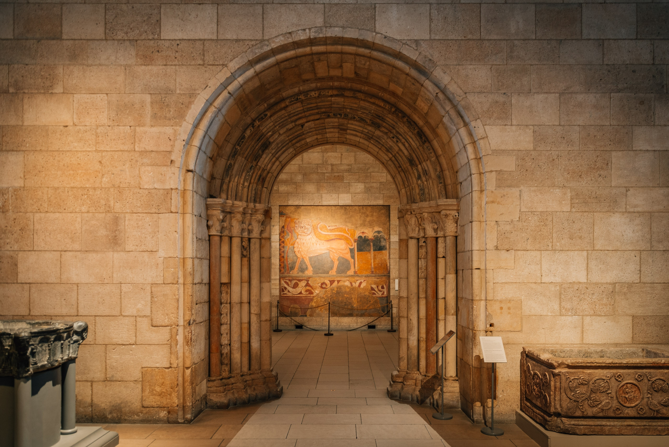 A Stone Arched Entry