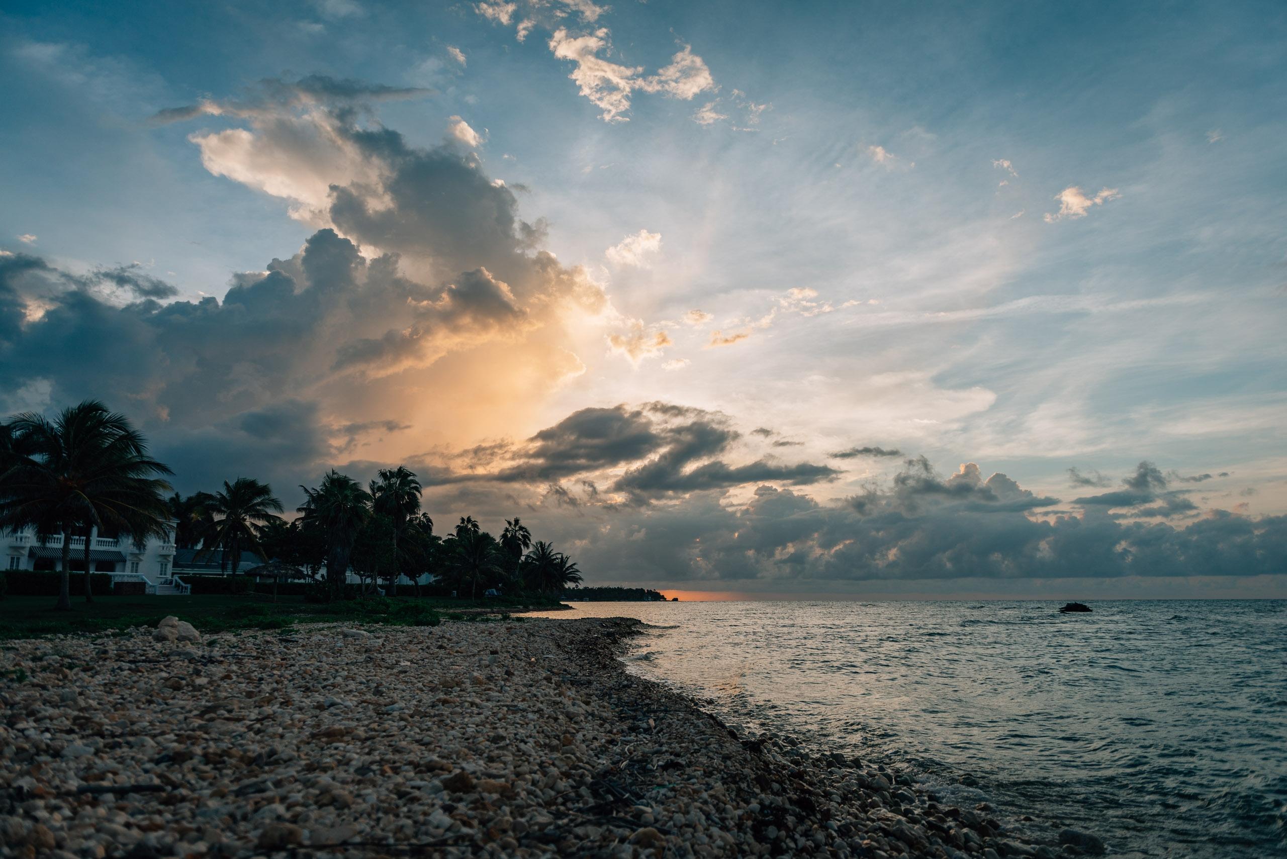 A Dramatic Sunset