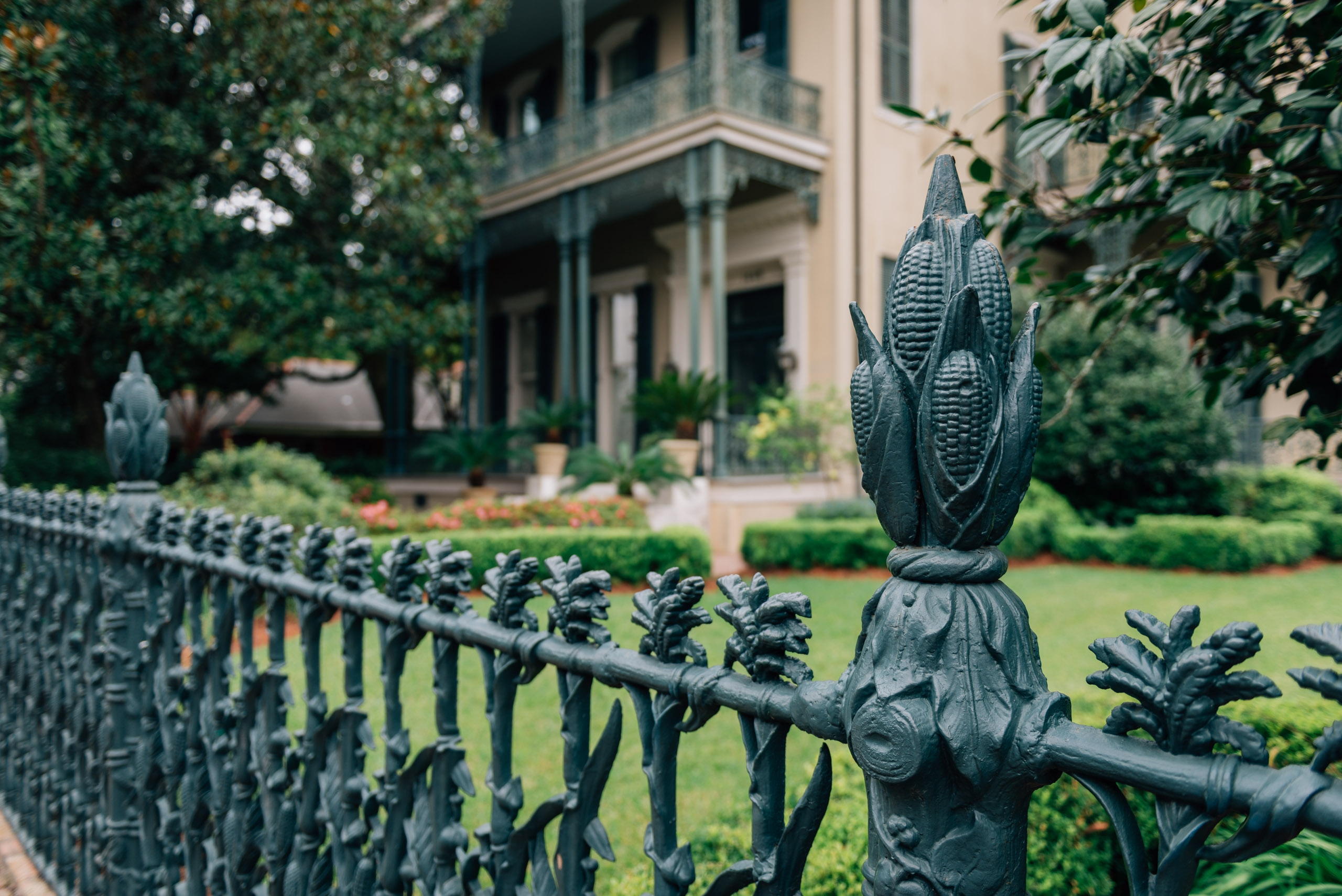 A Gothic Iron Fence