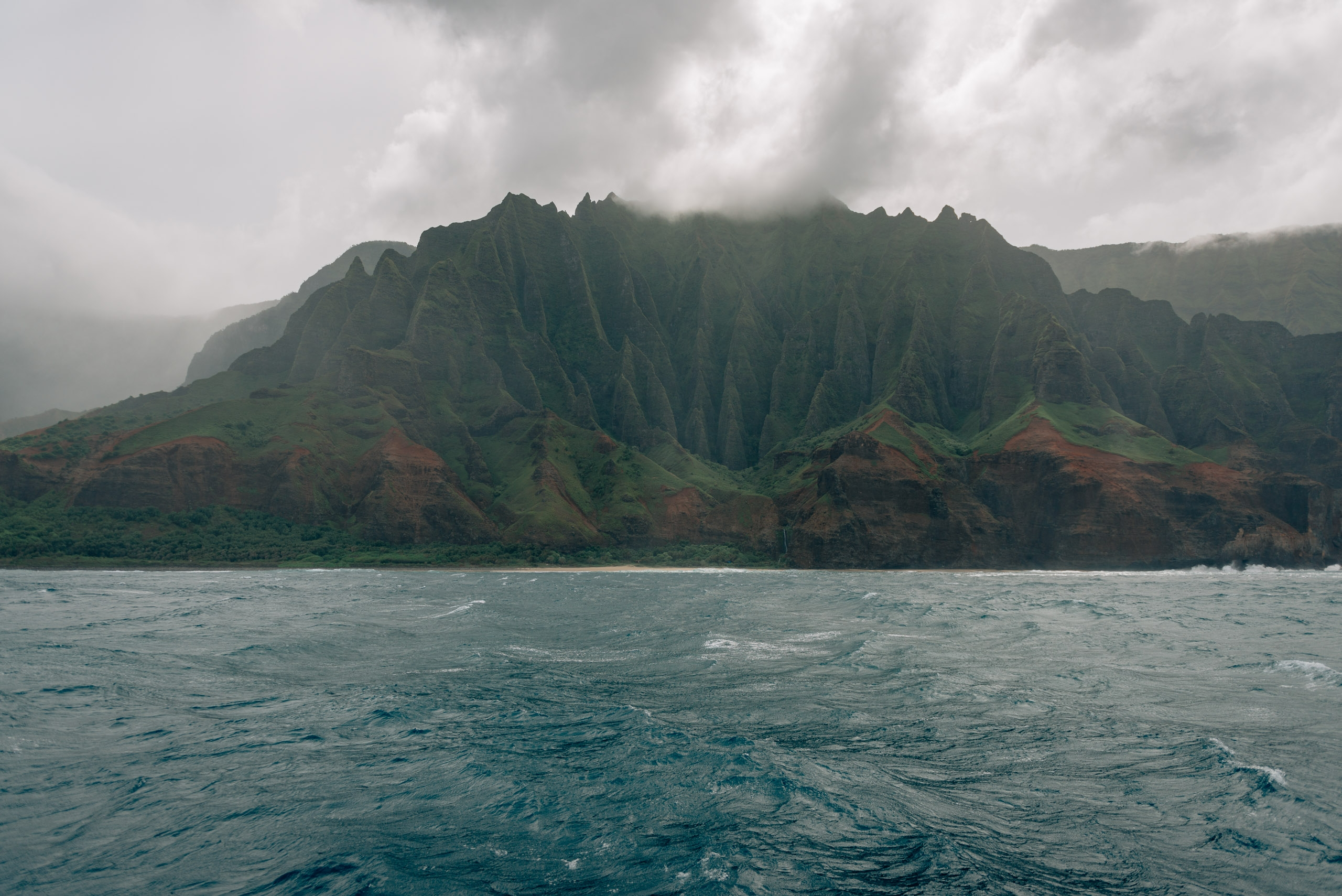 The Napali Coastline