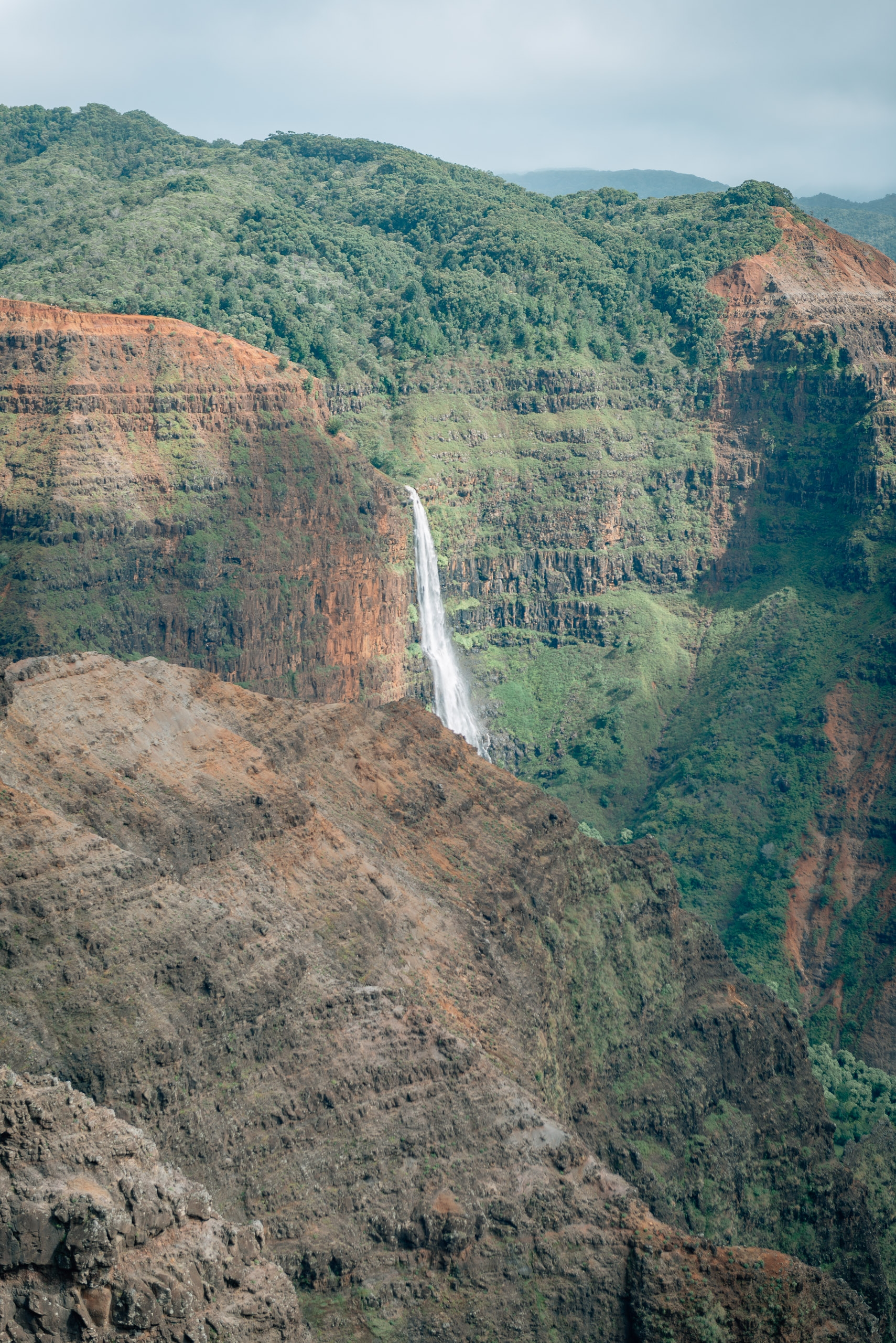 Overlooking Waimea Canyon 7